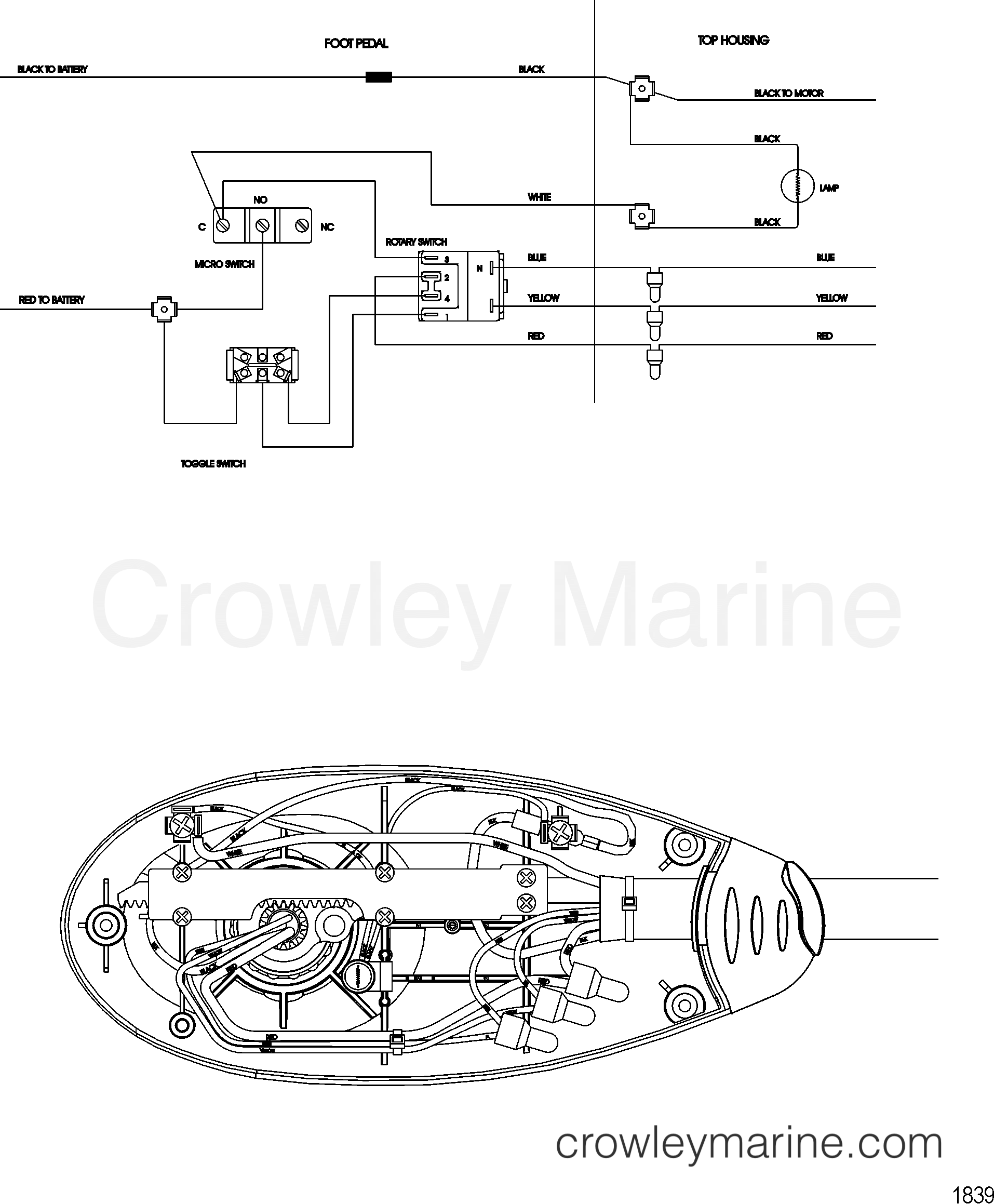 2008 MotorGuide 24V [MOTORGUIDE] - 92331011R - WIRE DIAGRAM(MODEL FW54FB)