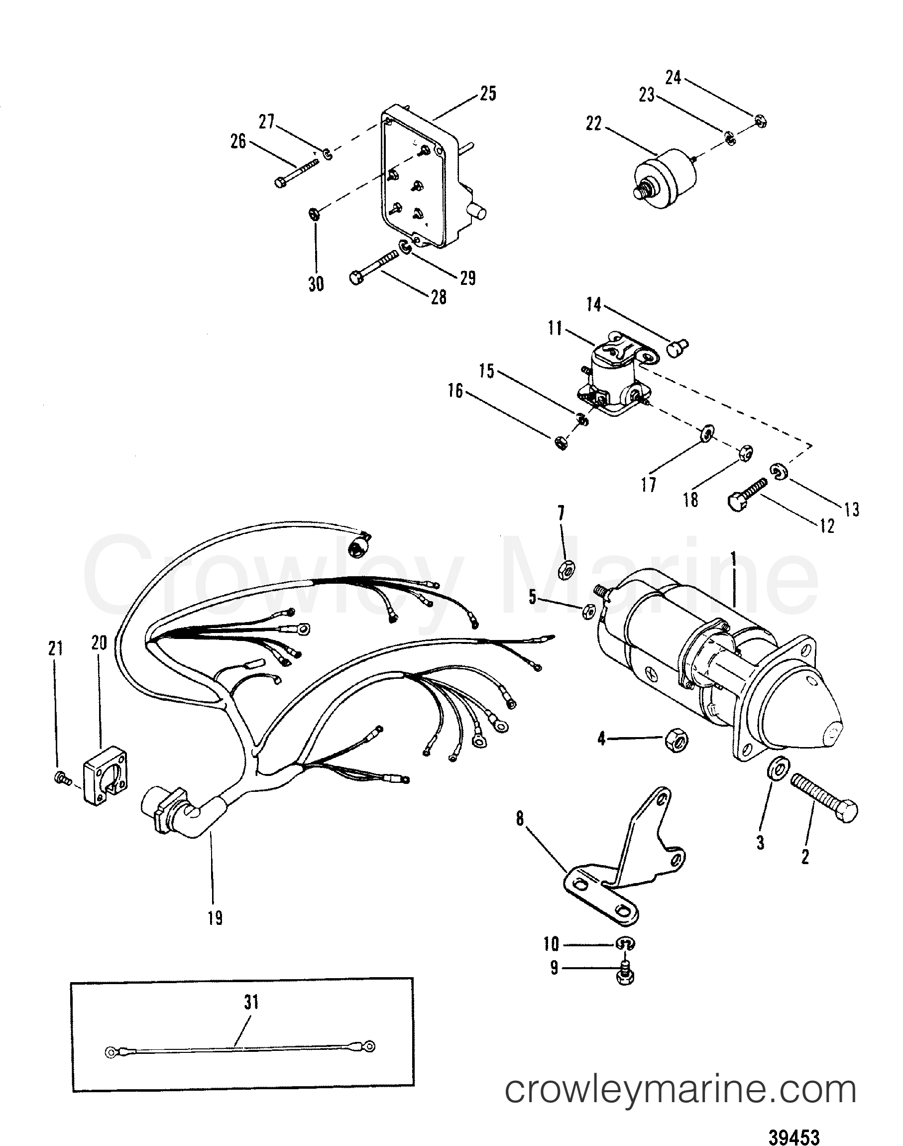 Wiring Diagram On Starter Solenoid Wiring Diagram 8 Mercruiser