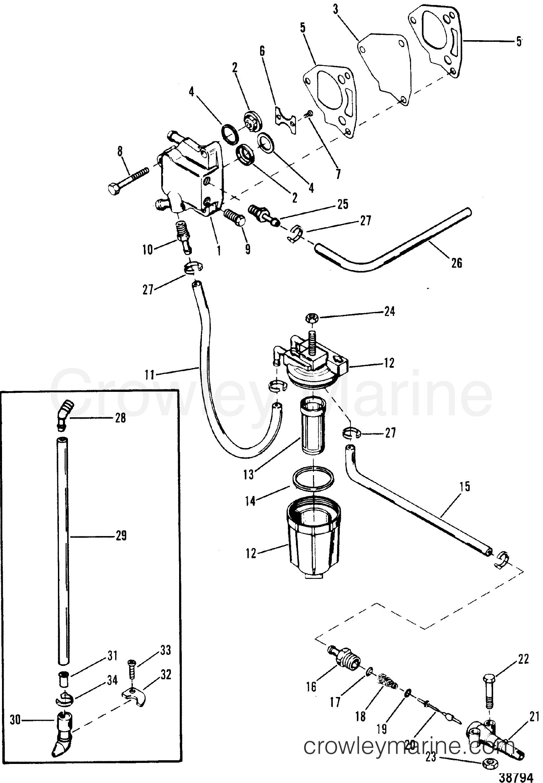 fuel pump and fuel line