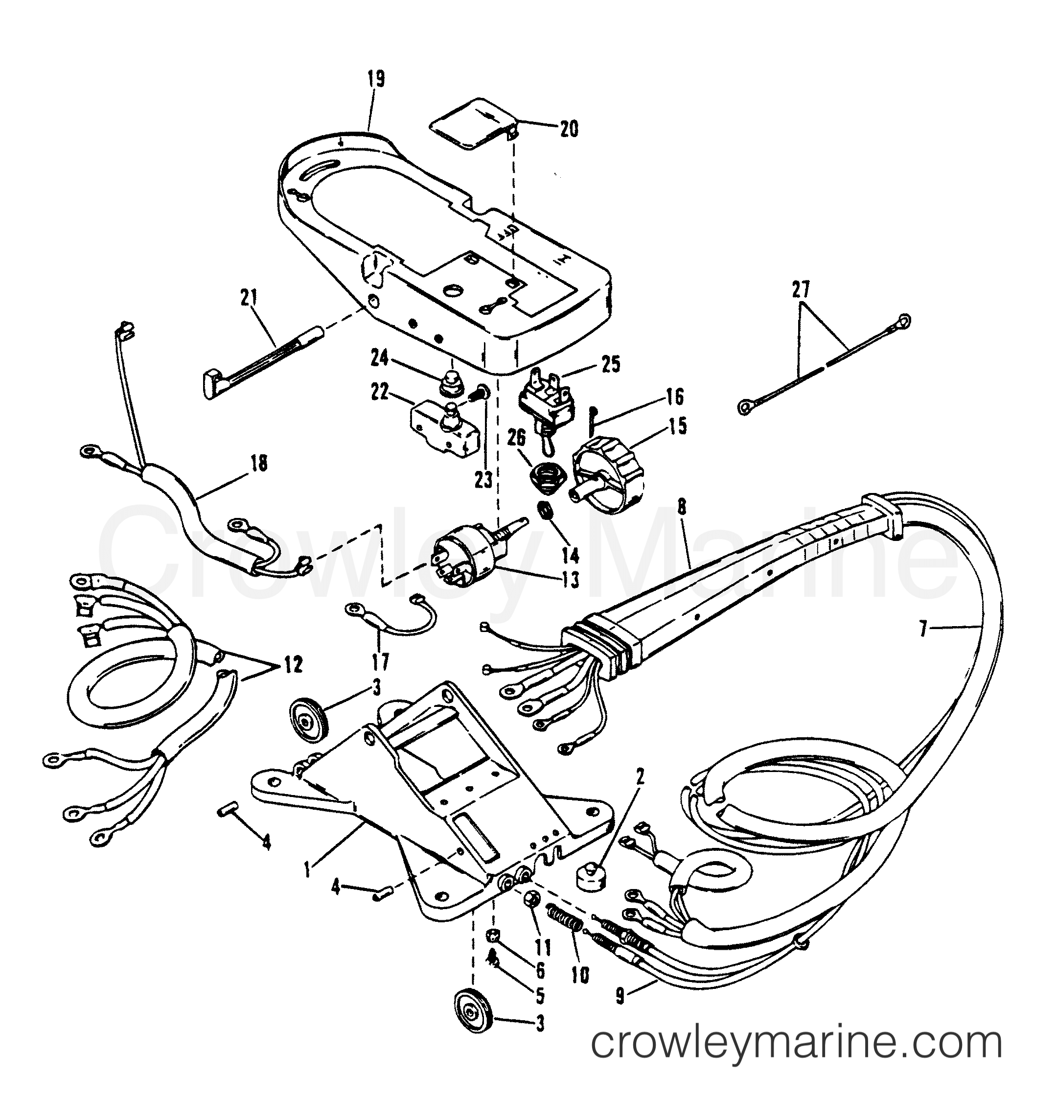 wiring harness and foot plate   u0026quot rc u0026quot