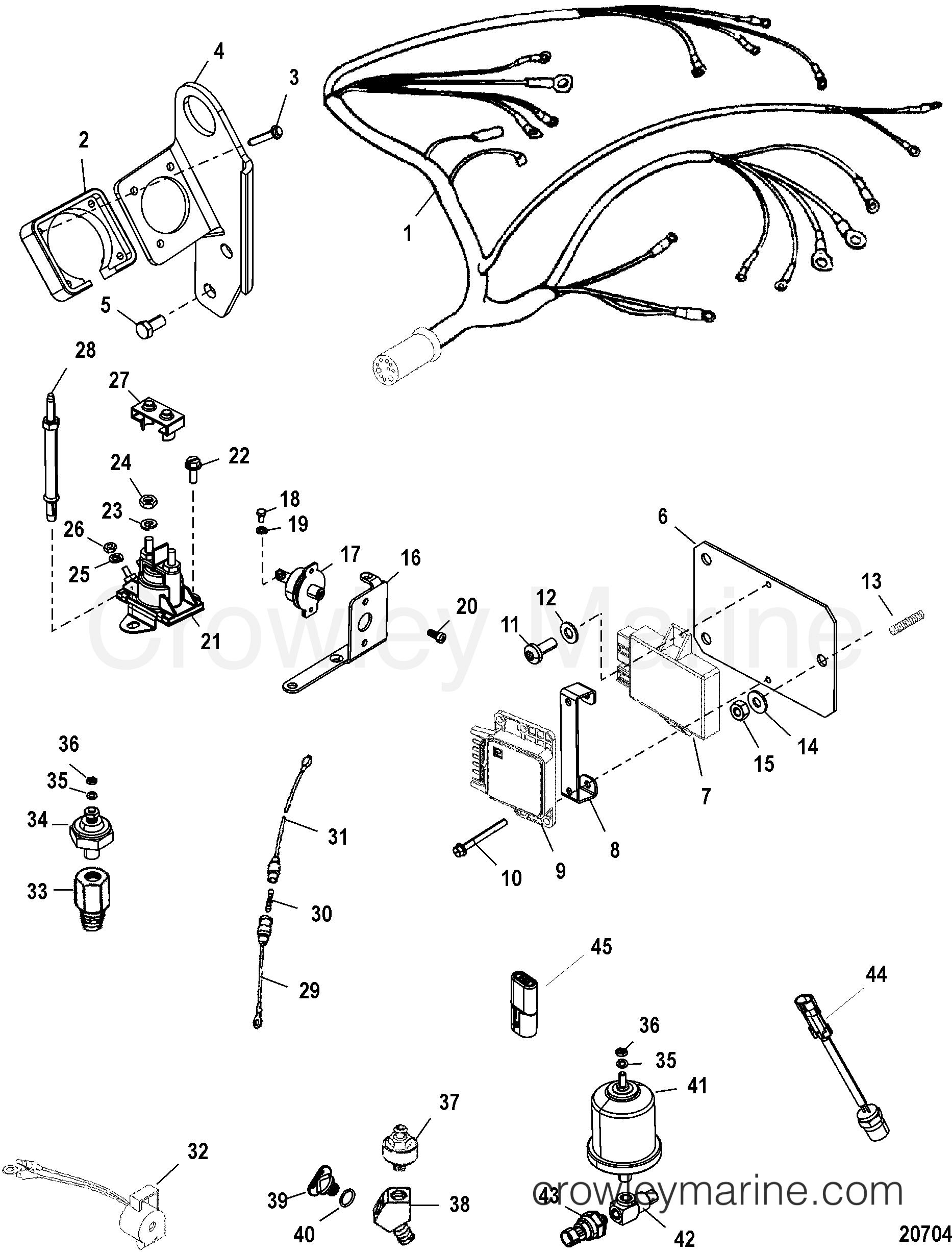 Electrical Components  Bravo 0w310000 Thru 0w649999