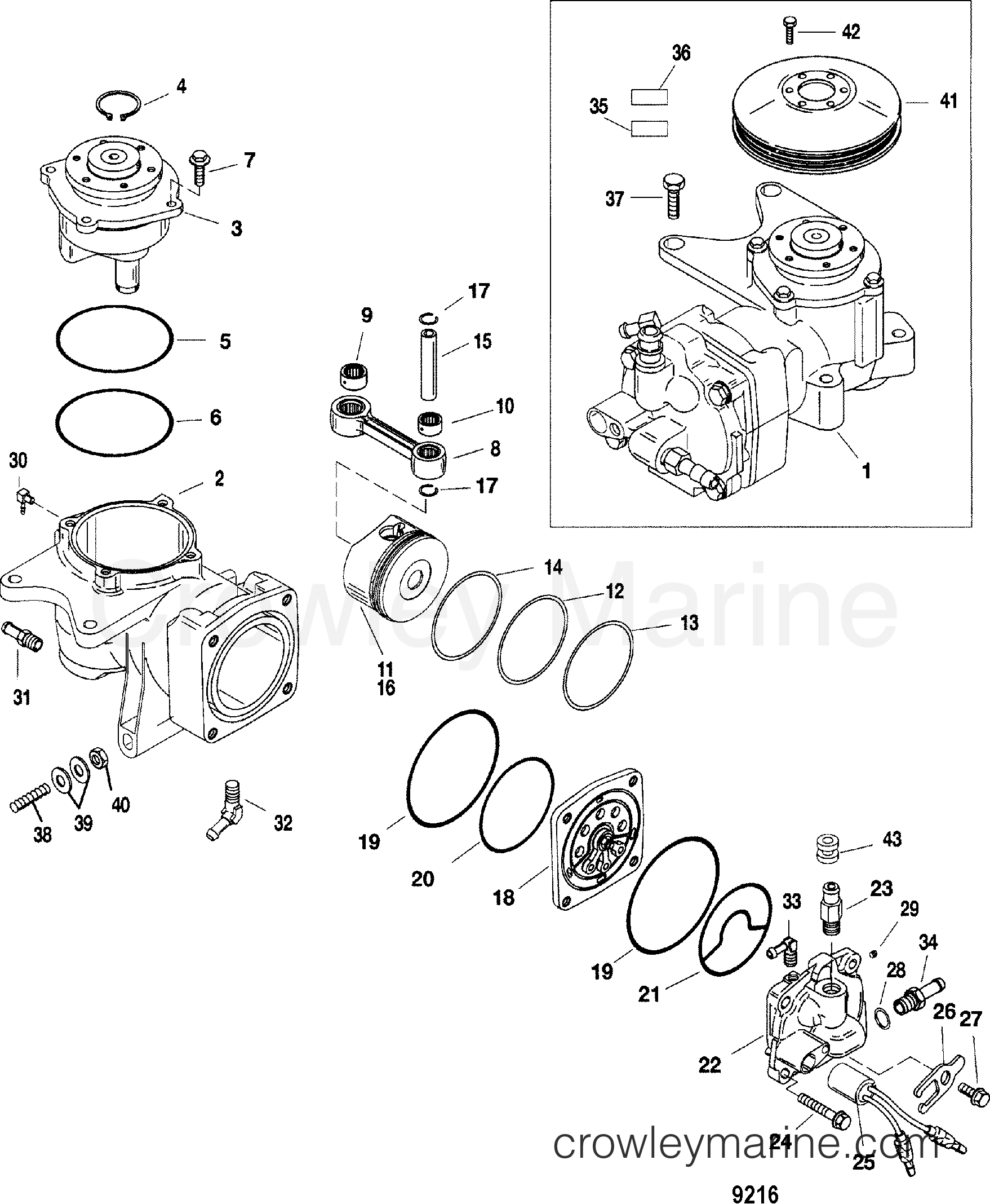 air compressor components