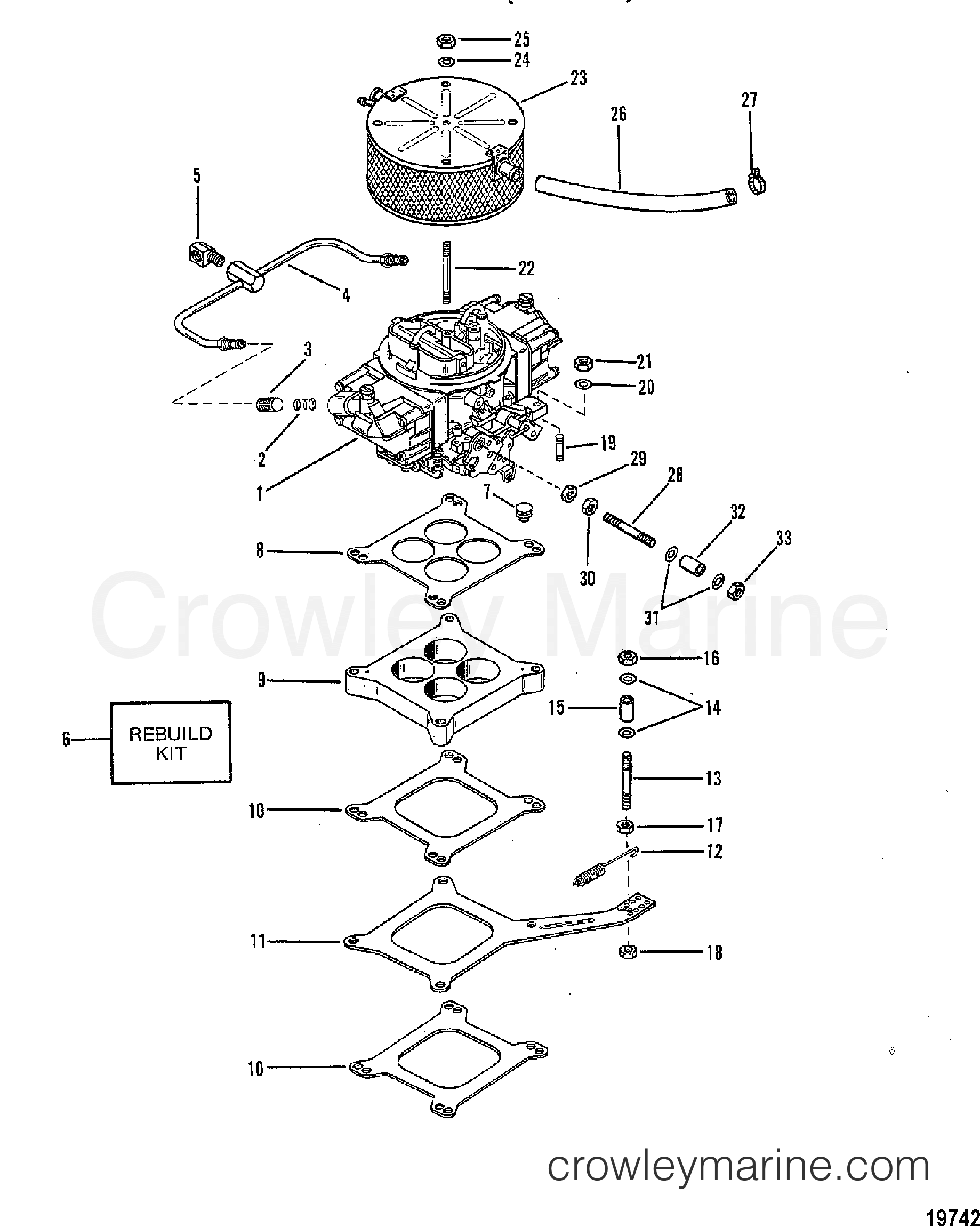 Carburetor And Linkage 440  460