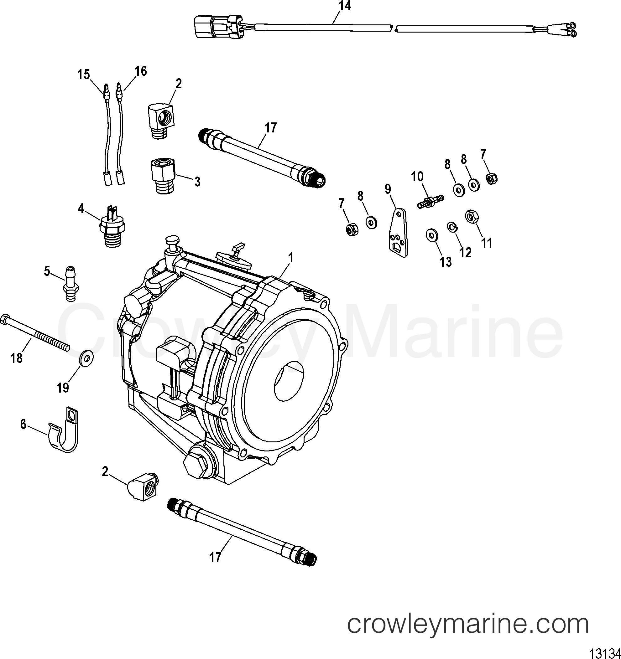 Mercruiser Driveline Diagram Automotive Wiring Subaru Transmission 2006 Race Sterndrive 600 Sci Rh Crowleymarine Com Drivetrain 1997 Ford