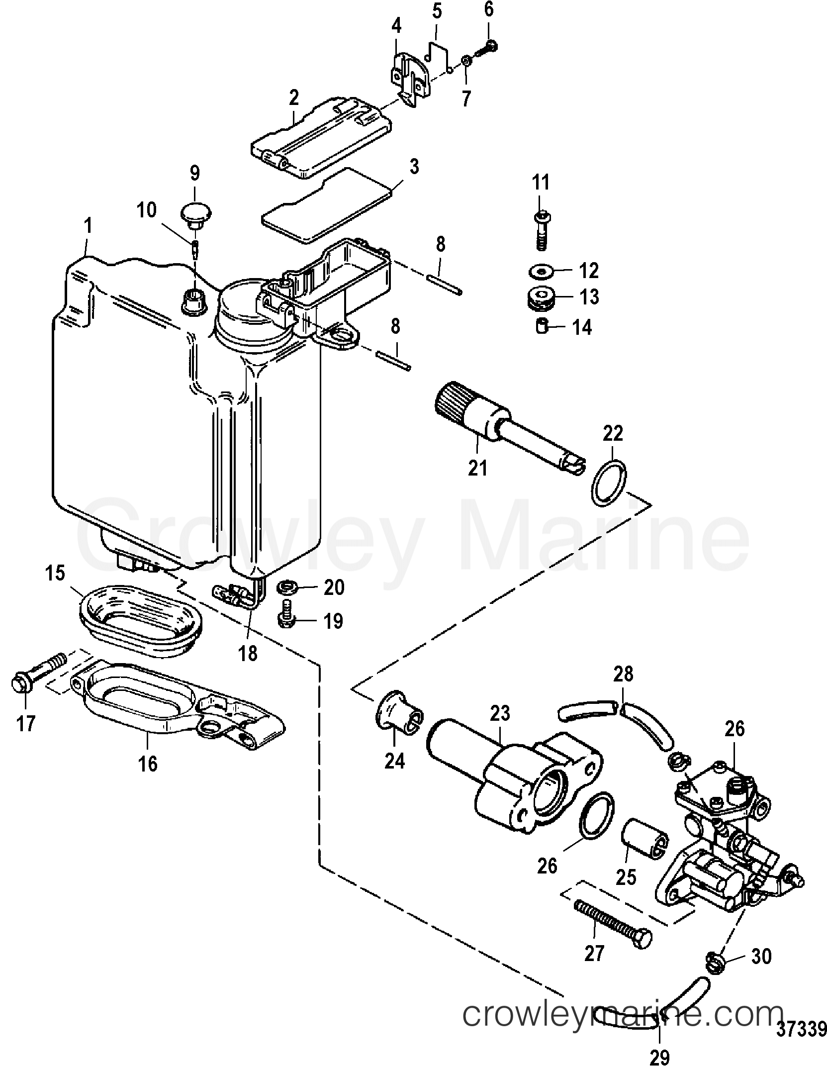 oil injection usa 0g301750  bel 9885504 and below