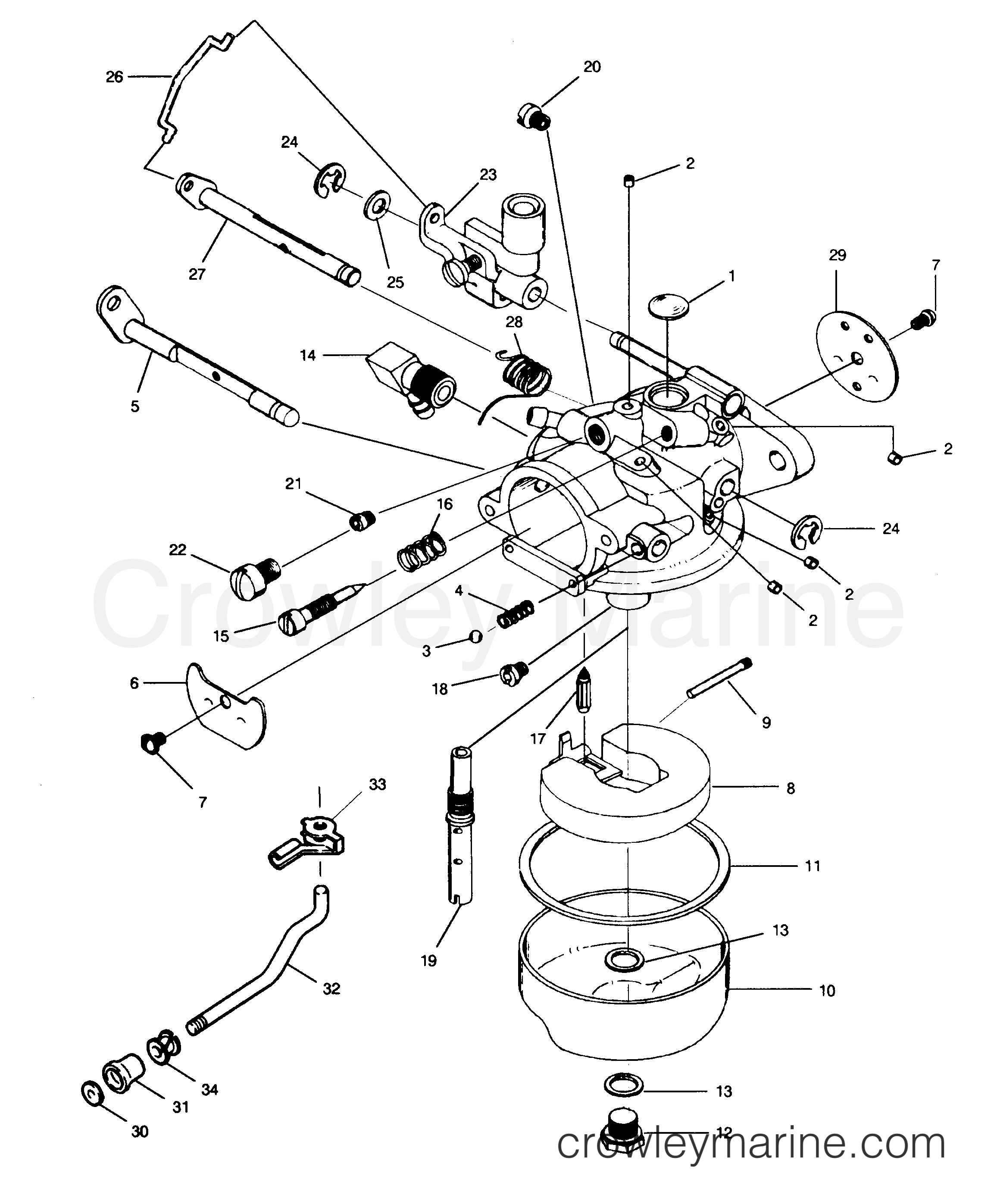 1992 Yamaha Outboard Engine Diagram Electrical Schematics Wiring 2010 Nytro U2022 Honda Cooling System
