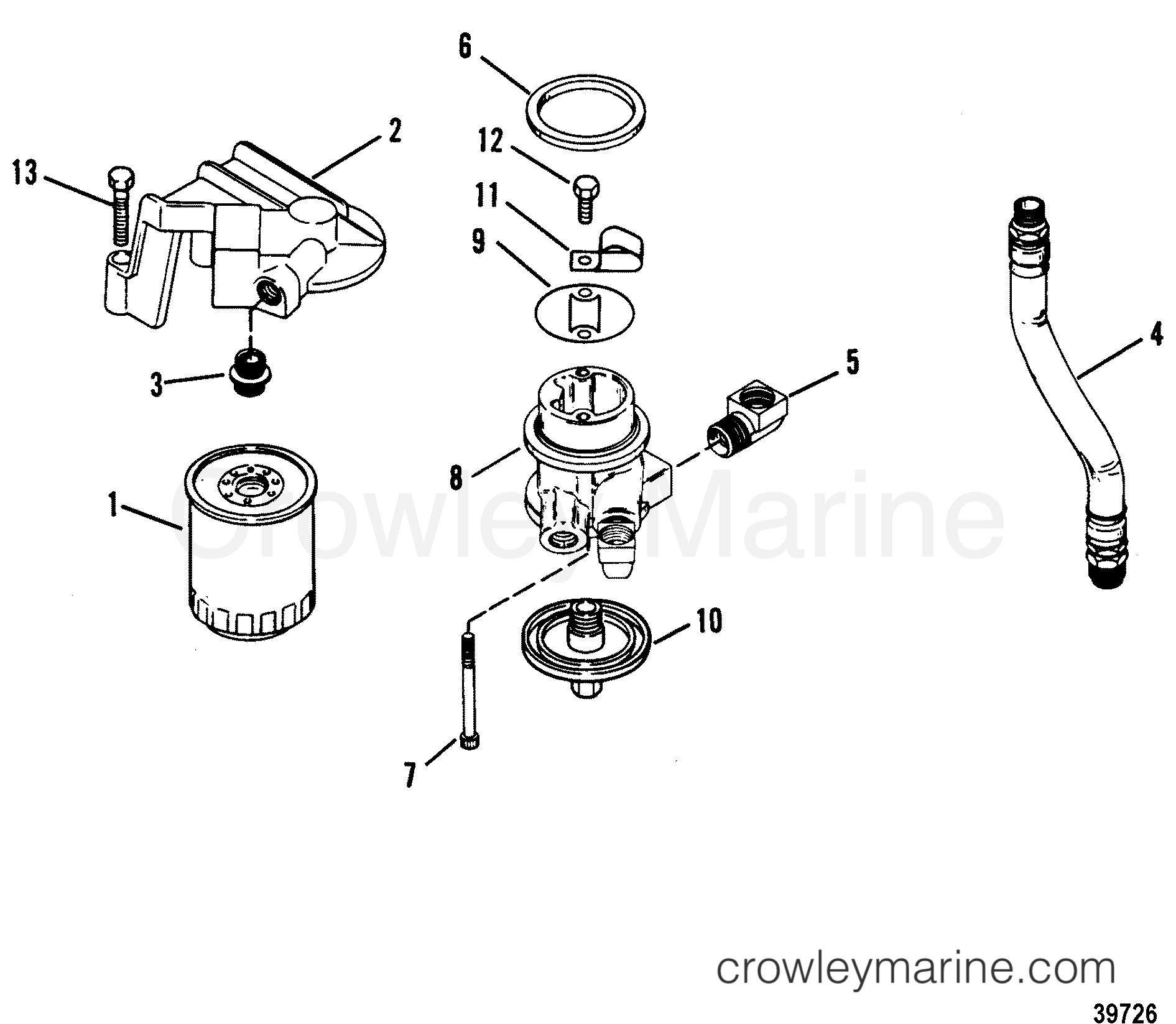 Mercruiser 4 3lx Wiring Diagram : Remote oil filter mercruiser lx alpha