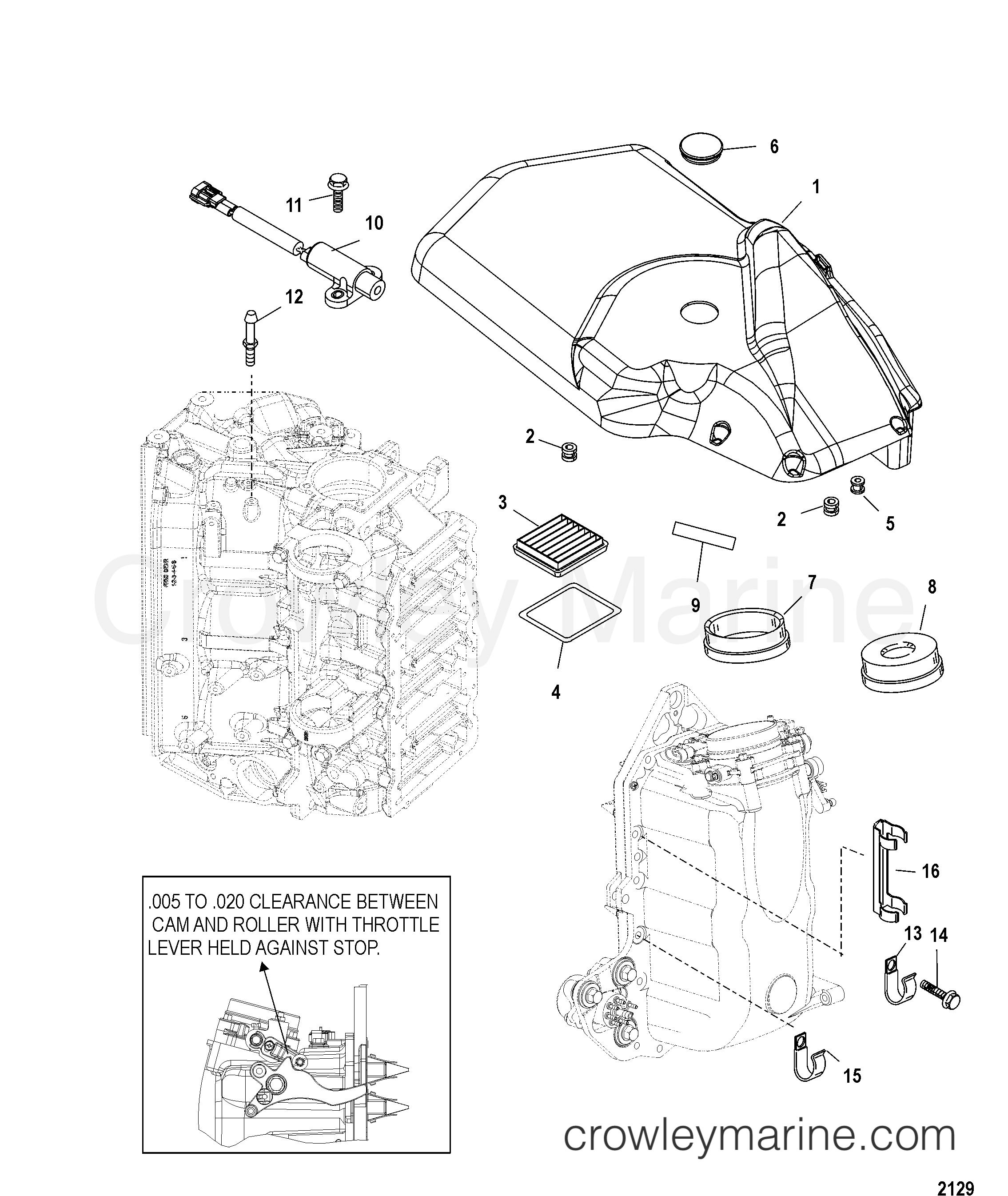 mercury 160 engine diagram