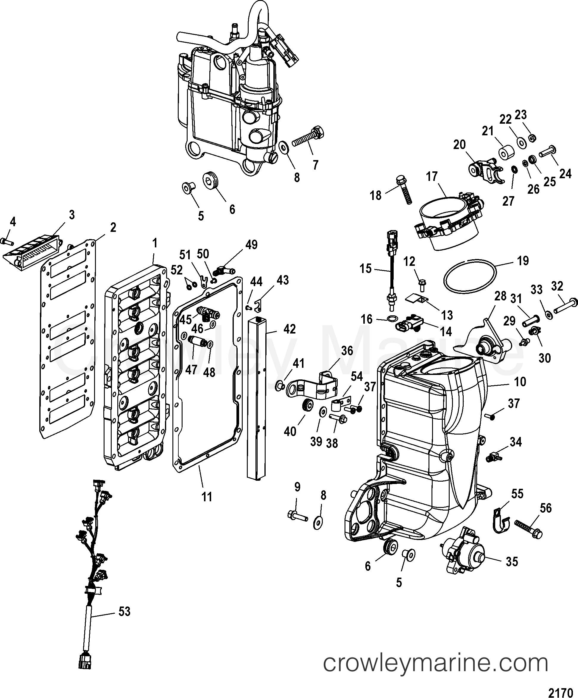 9 Mercury Outboard Parts Diagram