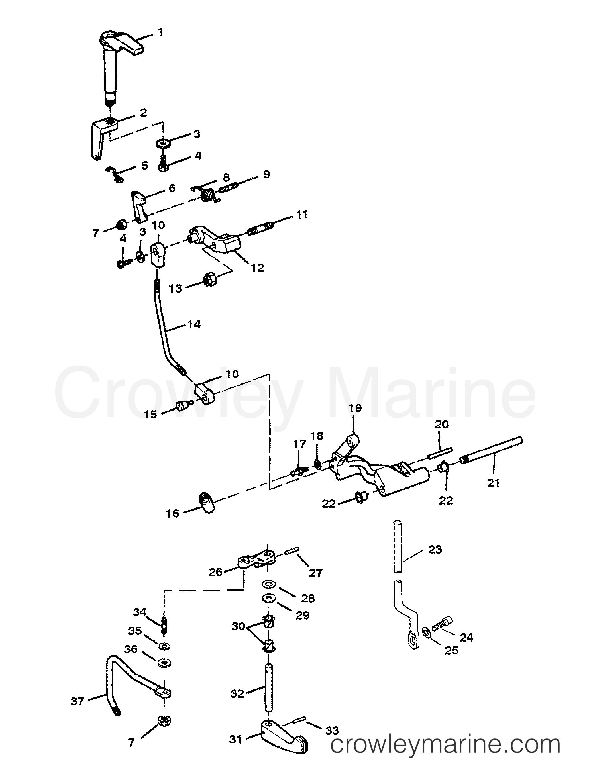 saab transmission linkage diagram