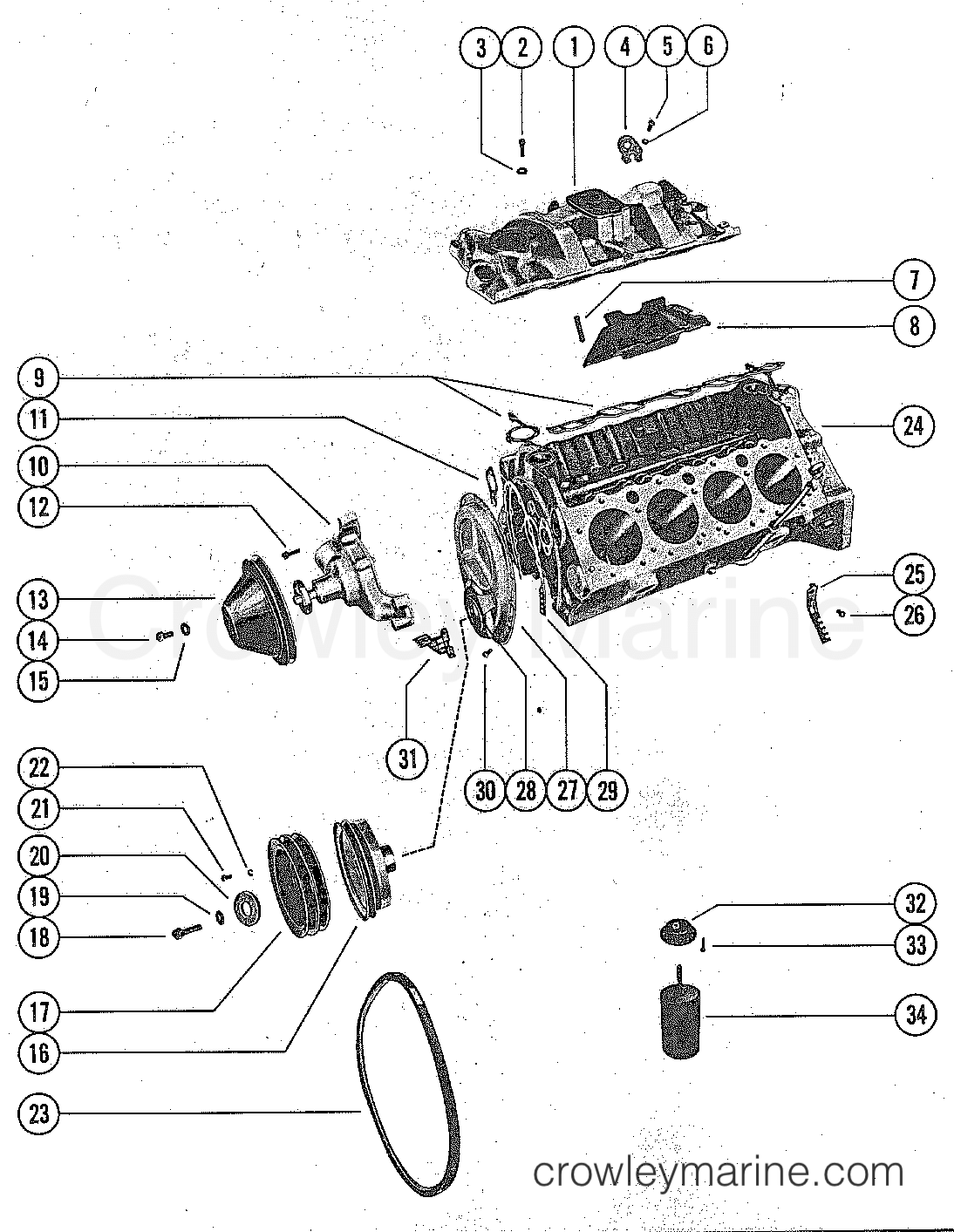 Mercruiser 280 Trs Water Flow Diagram Wiring Diagram And