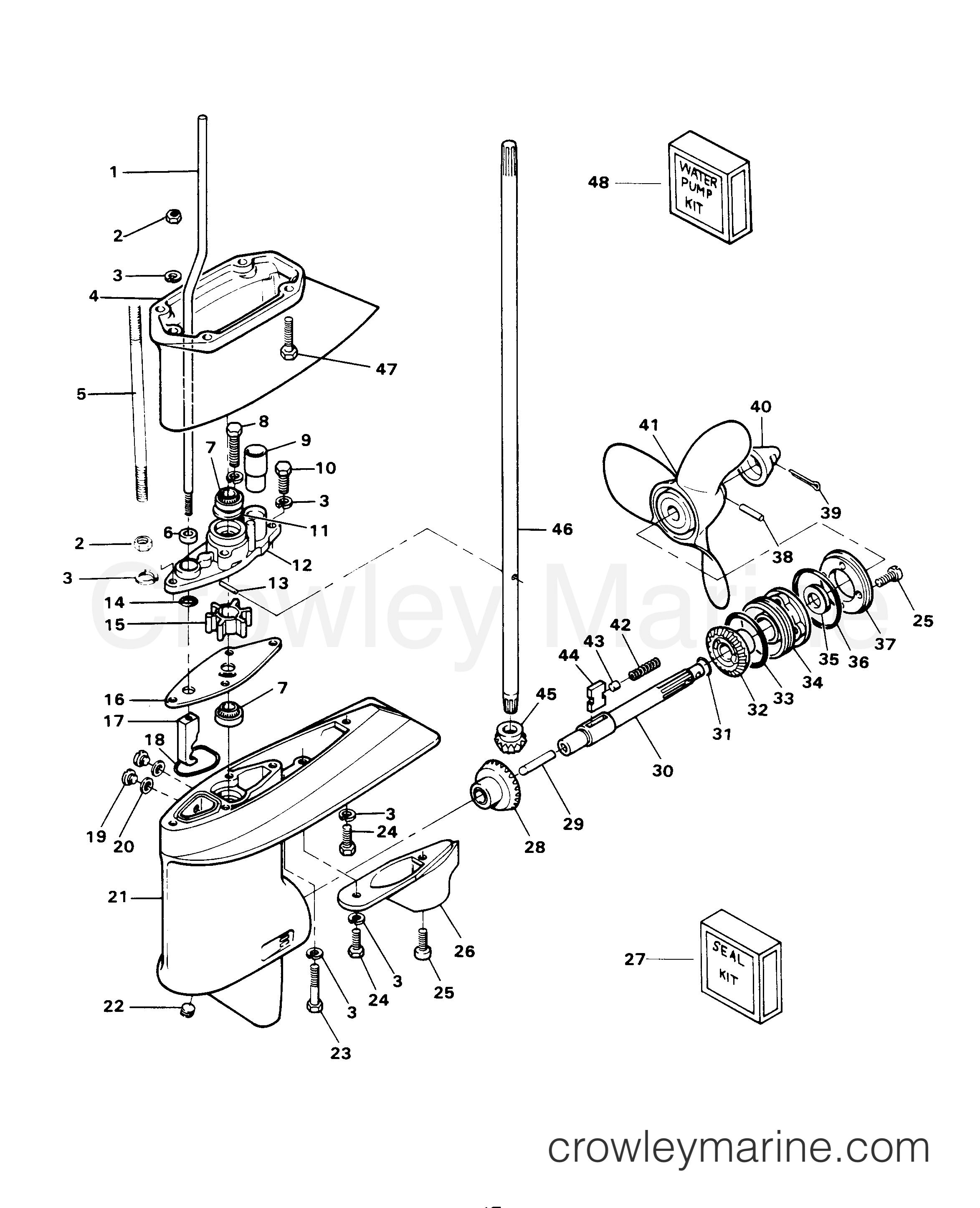 gear housing