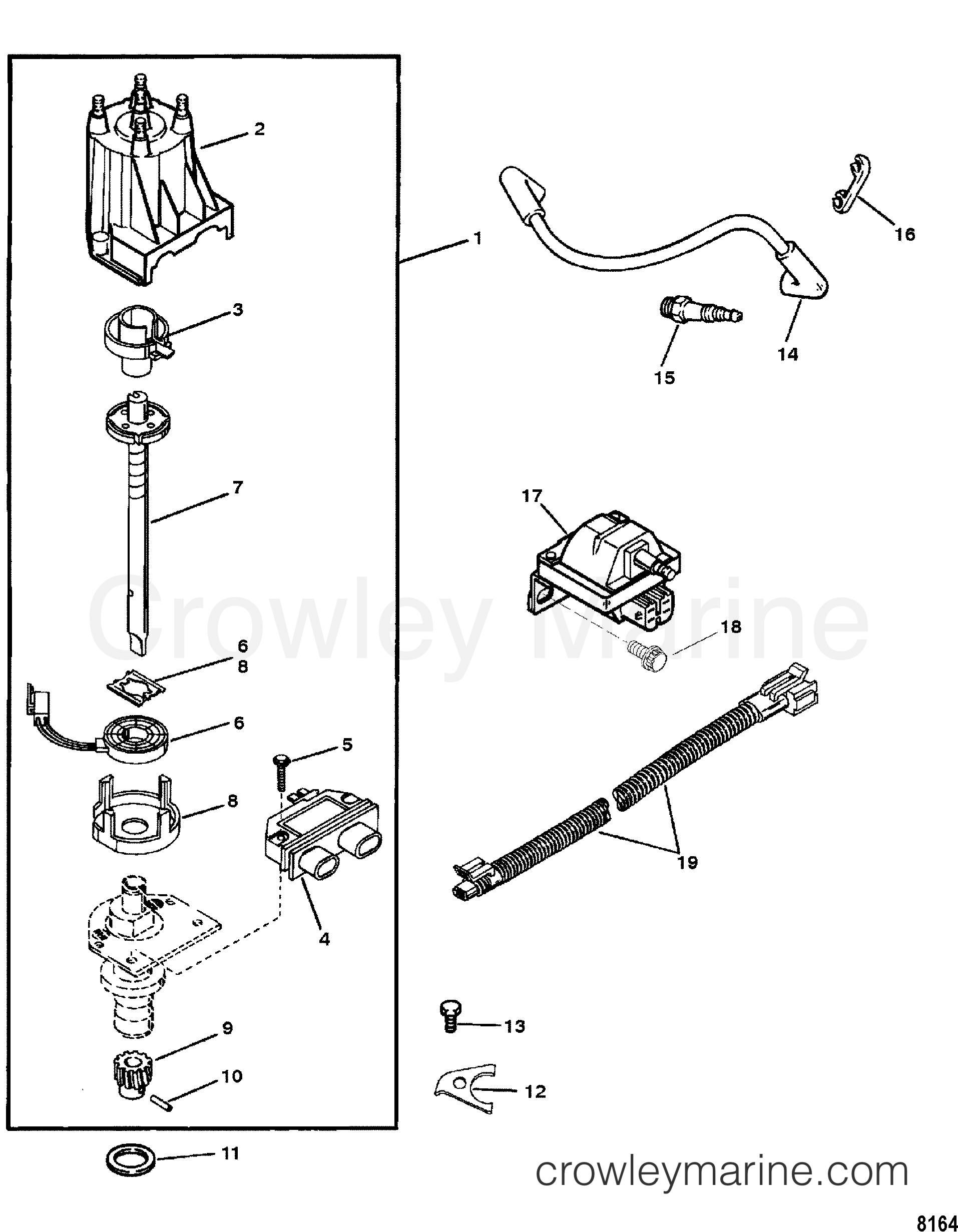 3.0 Mercruiser Ignition Coil Wiring Diagram from cdn.crowleymarine.com