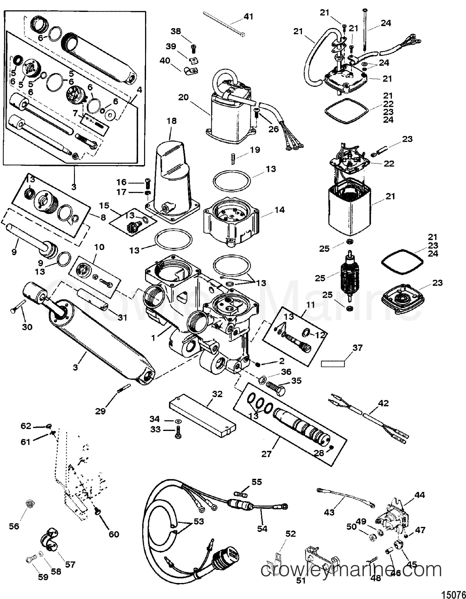 power trim and tilt kit 818186a8