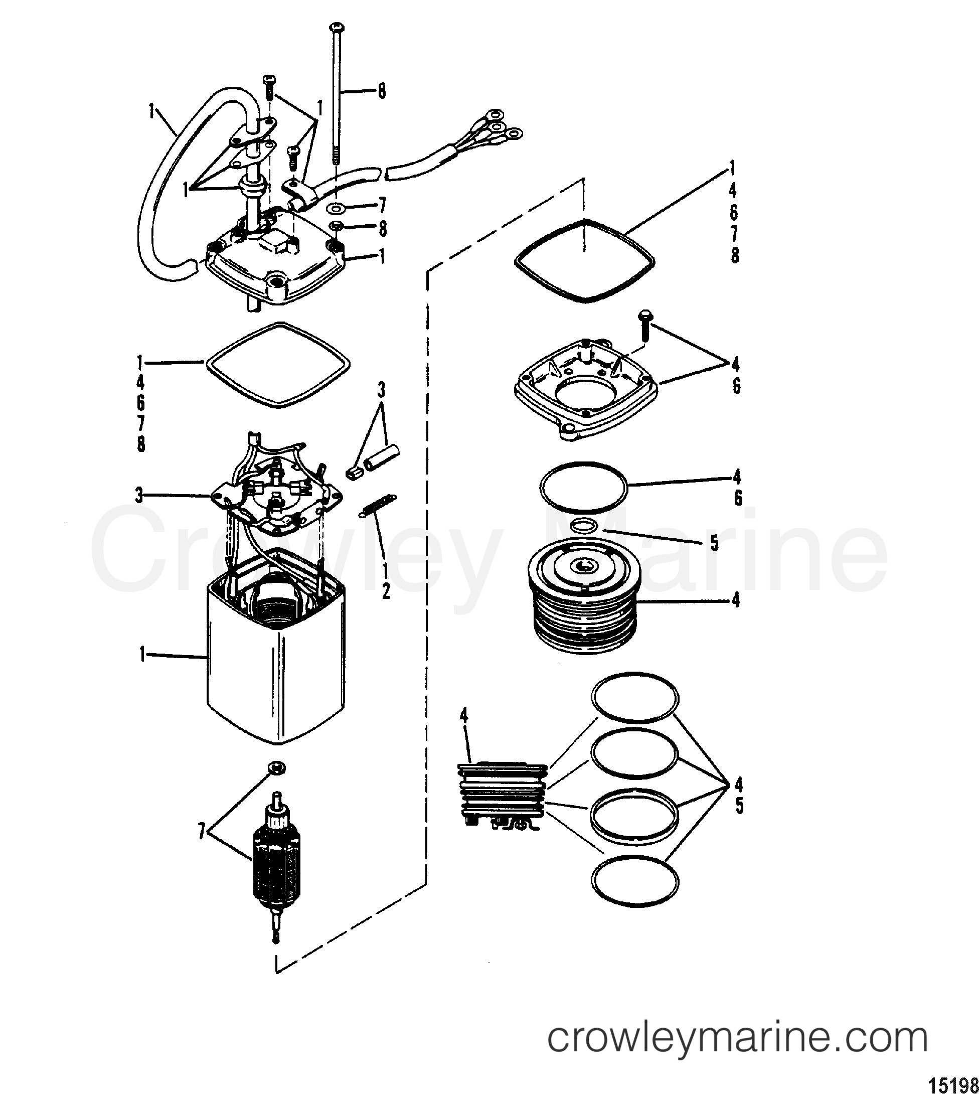 150 mercury outboard parts diagram trim  mercury  auto