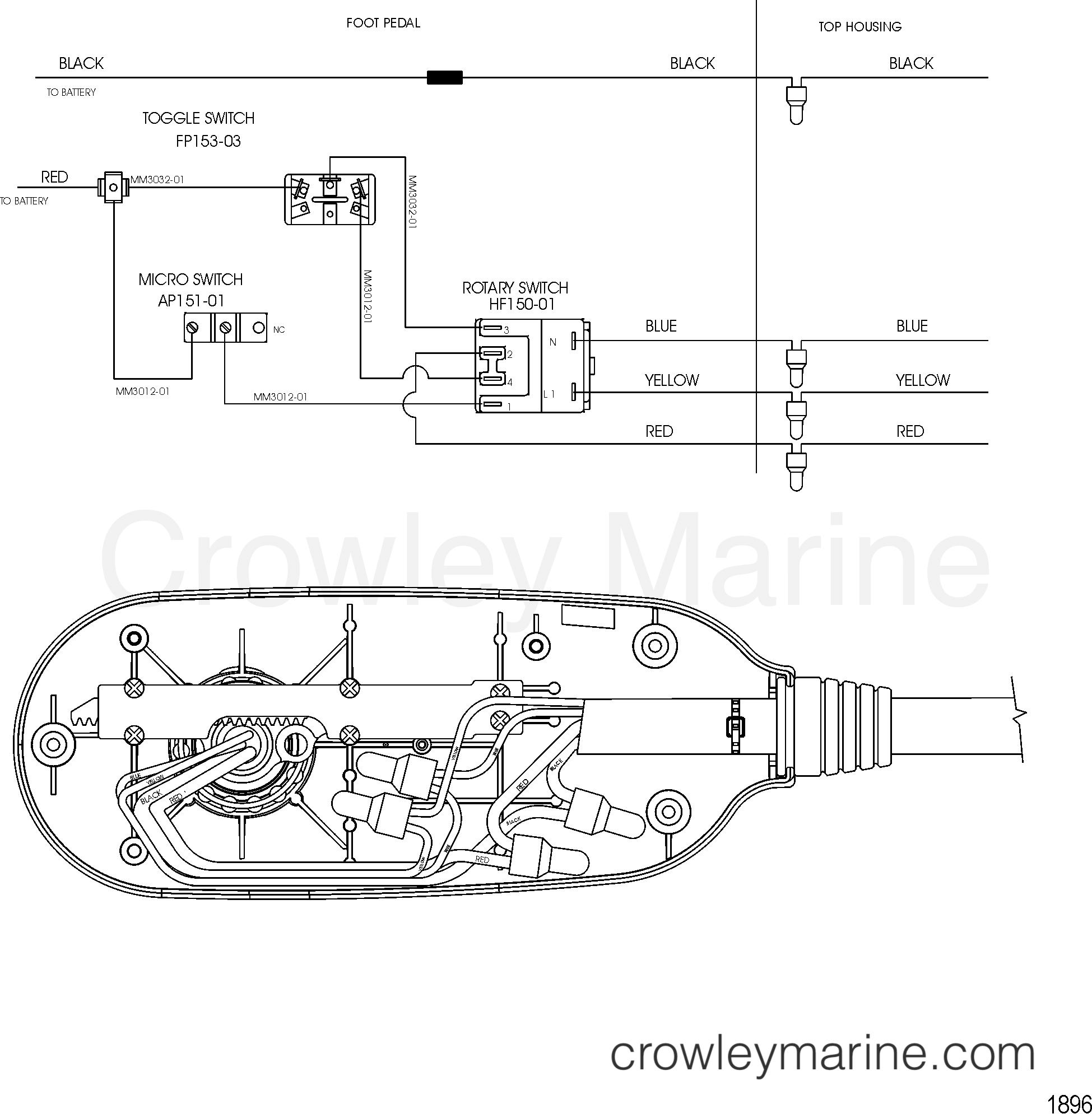 2002 MotorGuide 12V [MOTORGUIDE] - 9MP4301Z1 - WIRE DIAGRAM(MODEL MP5200) (