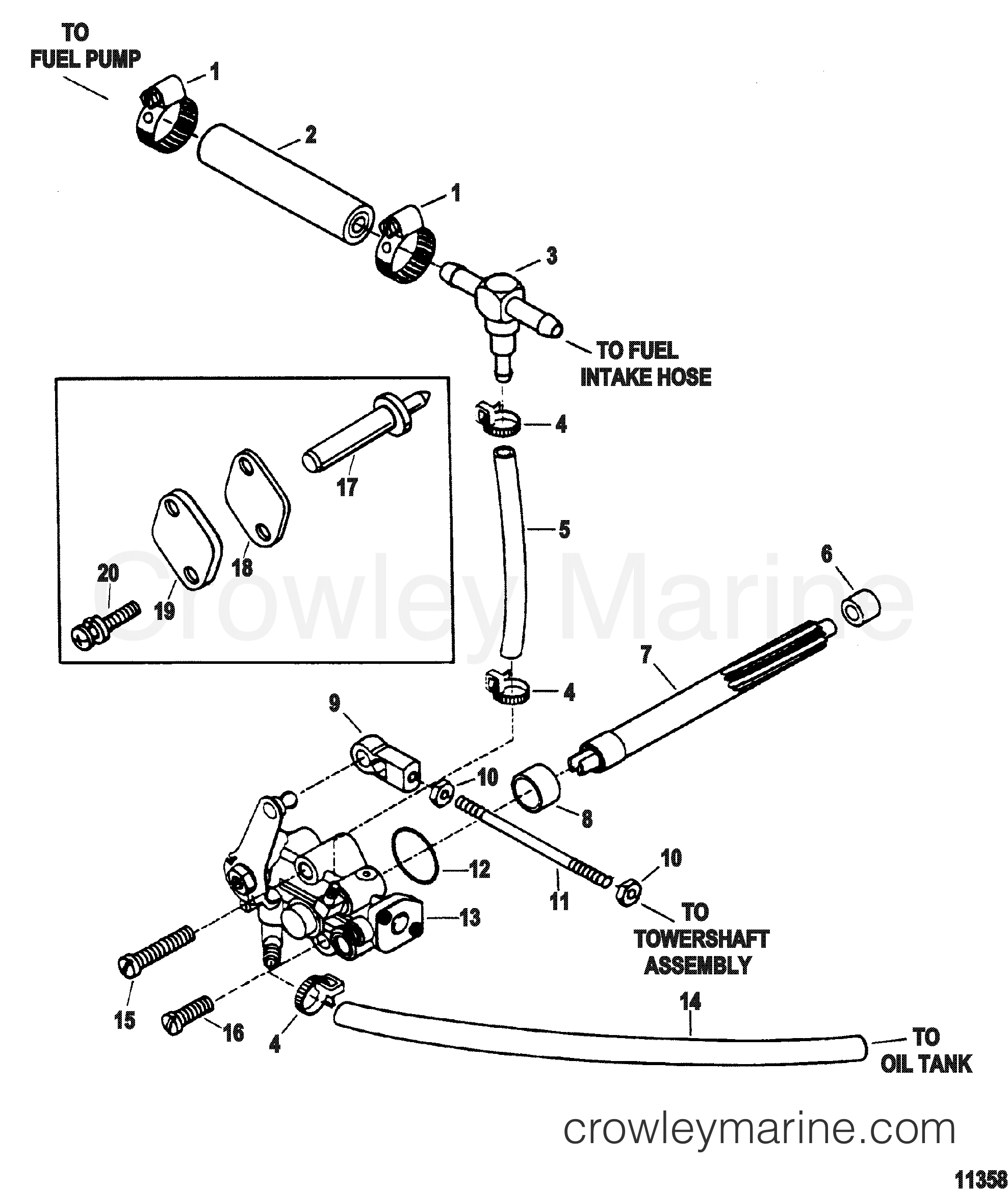 oil injection pump