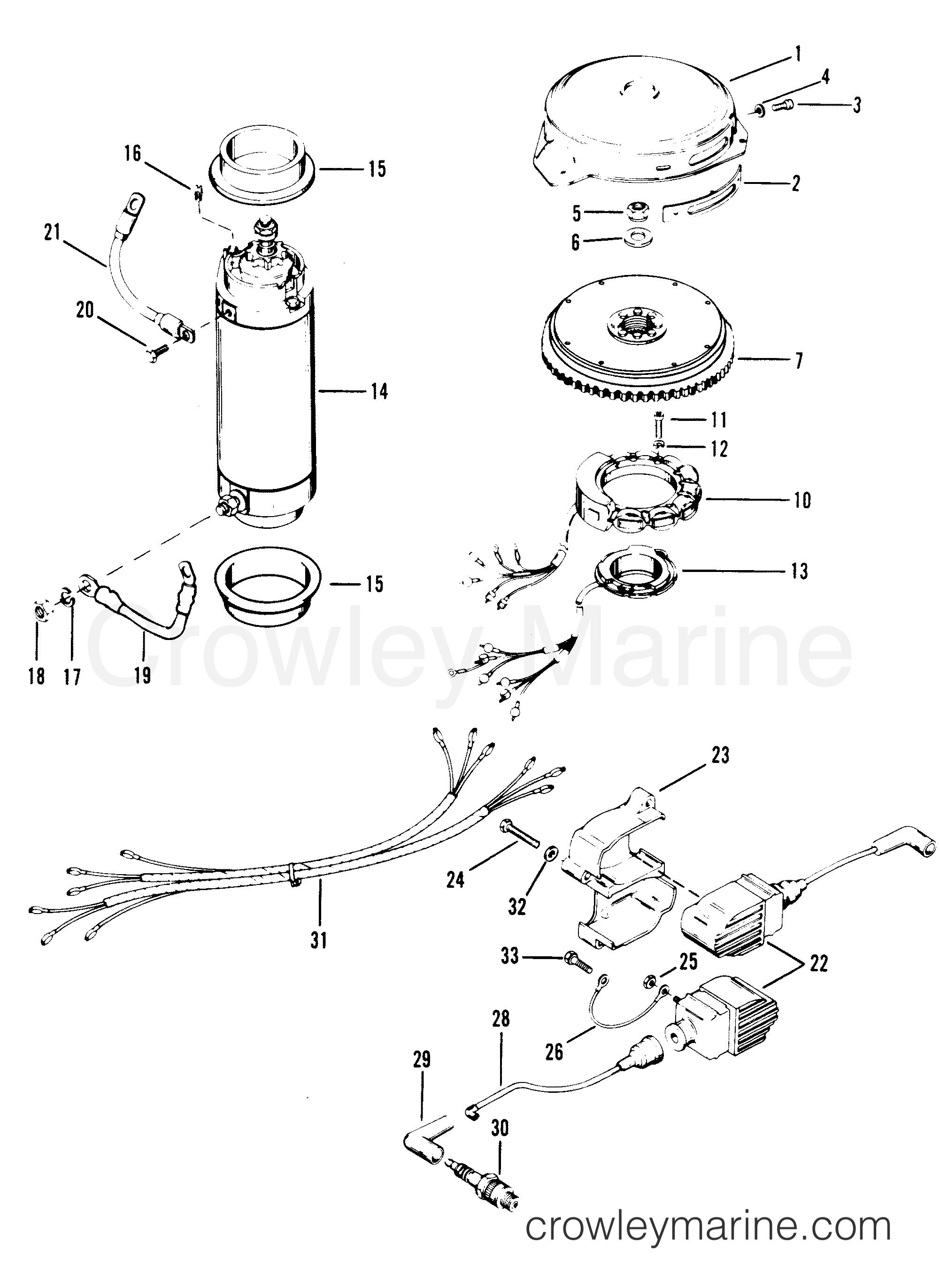 Wiring Mercury Diagram Harness 150 Xr2
