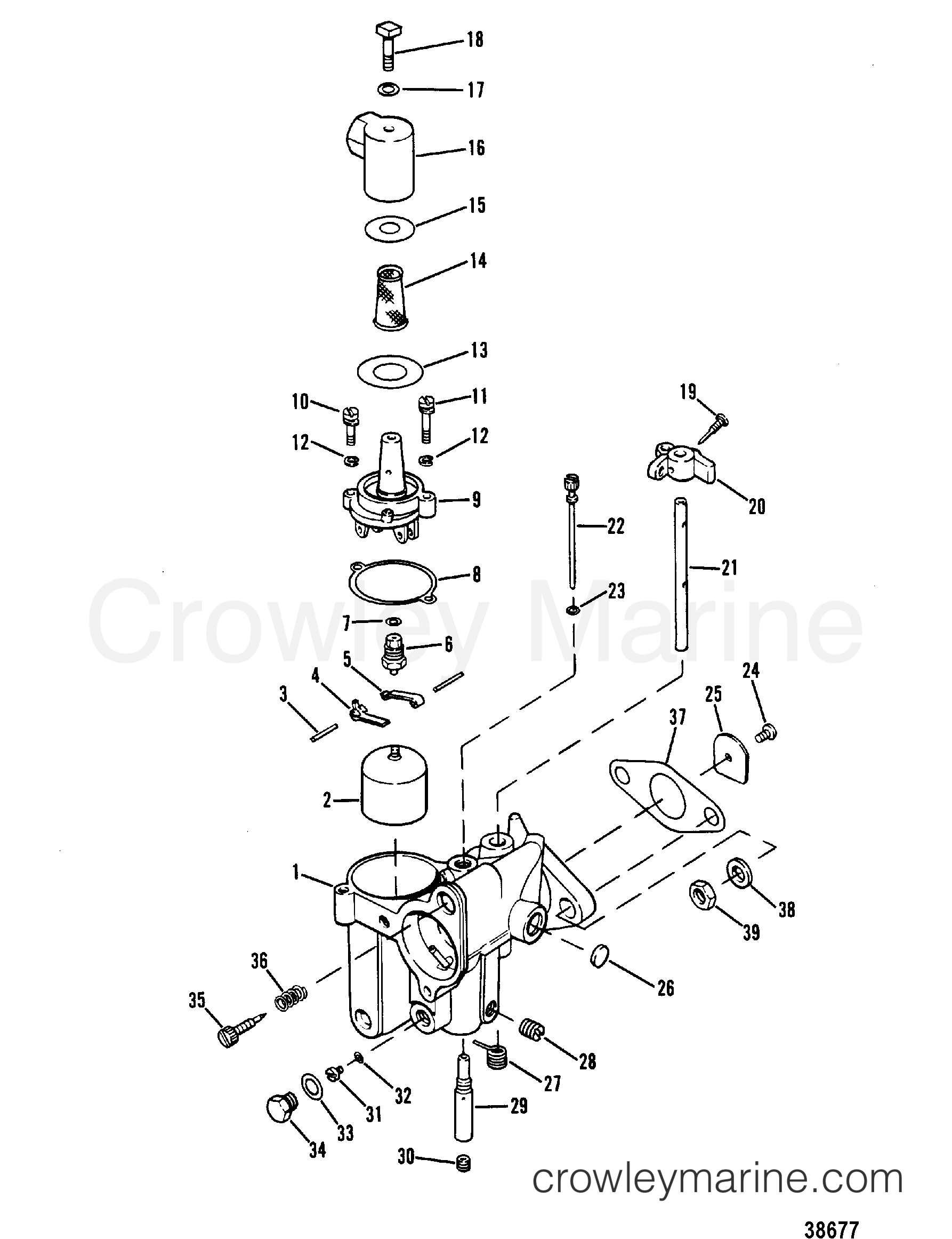 carburetor assembly tillotson