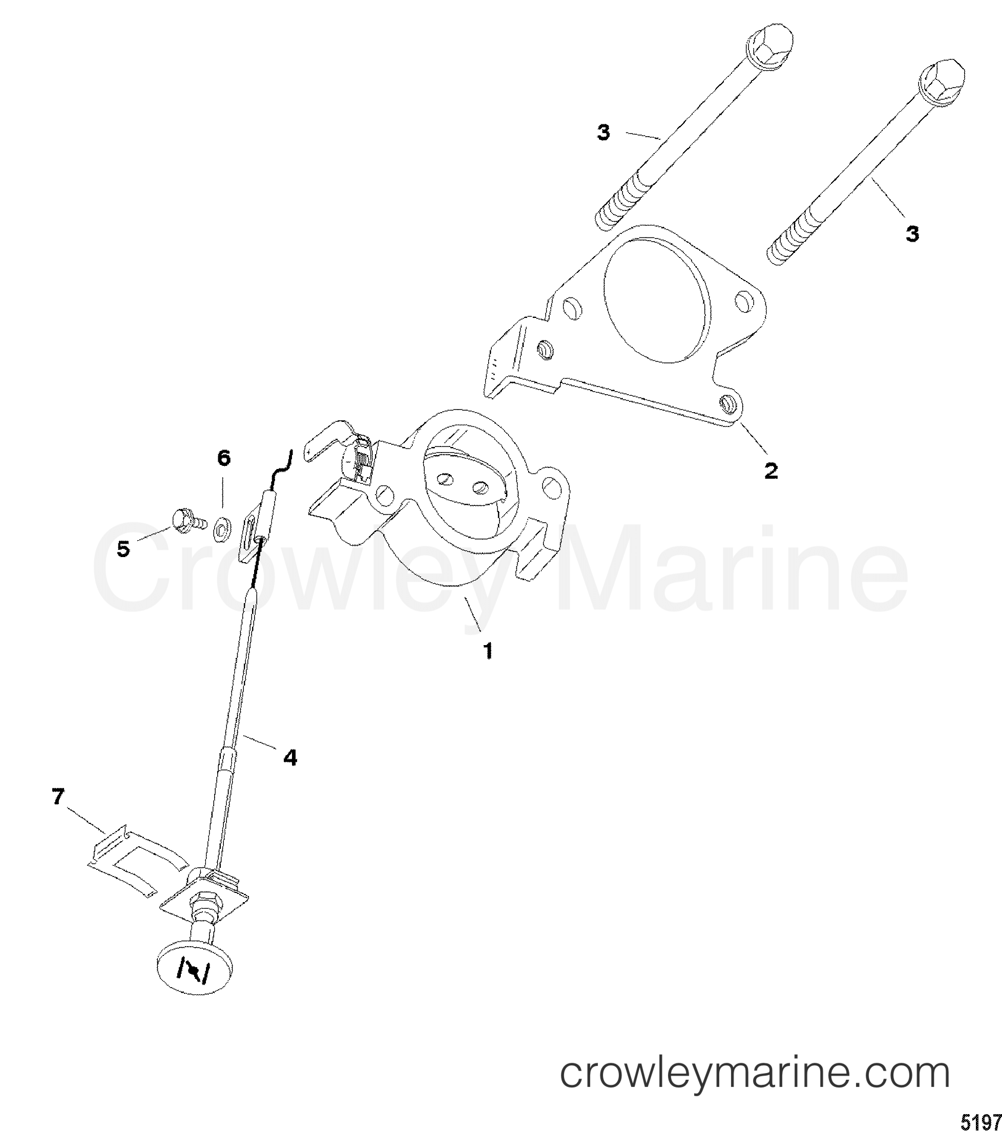 2004 Mercury Outboard 40 [ML] - 1041213CF - CHOKE KIT section