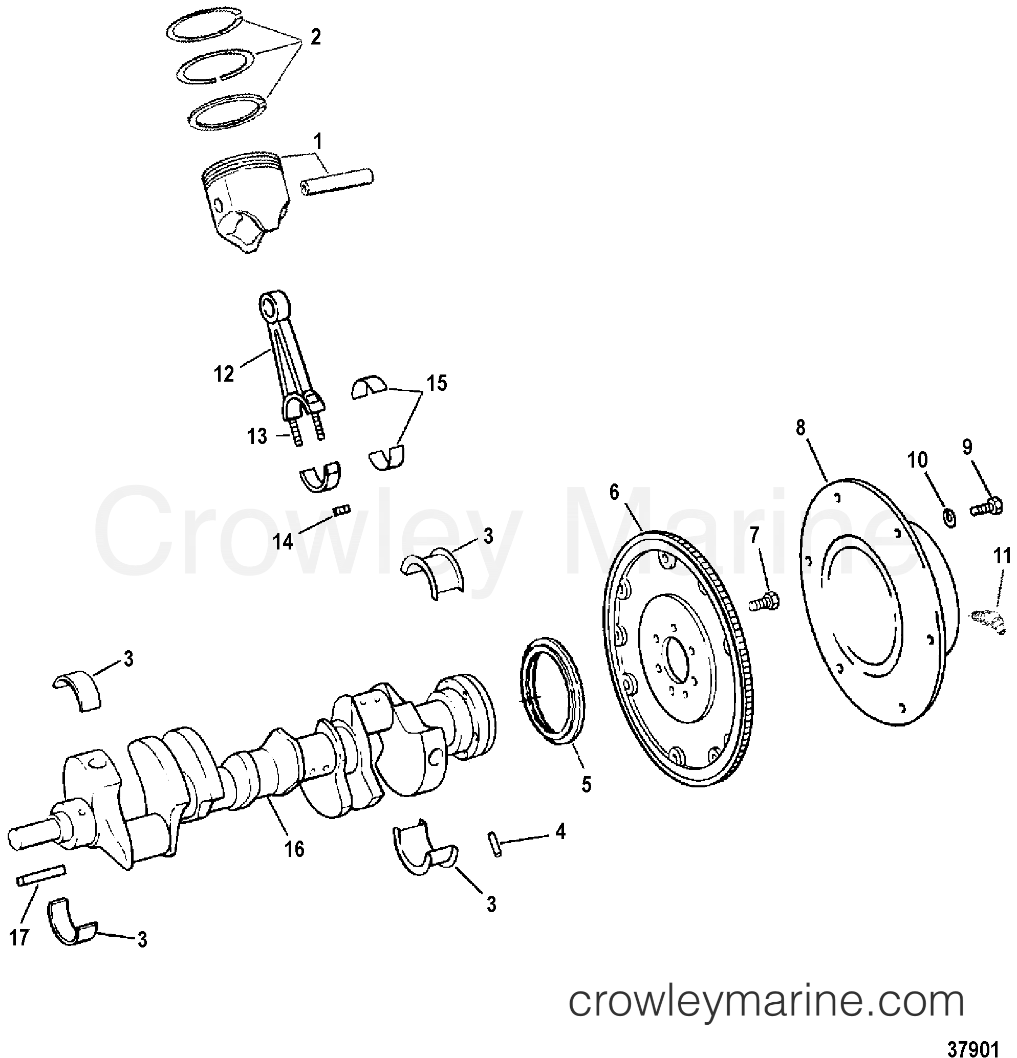 crankshaft  pistons  u0026 connecting rods