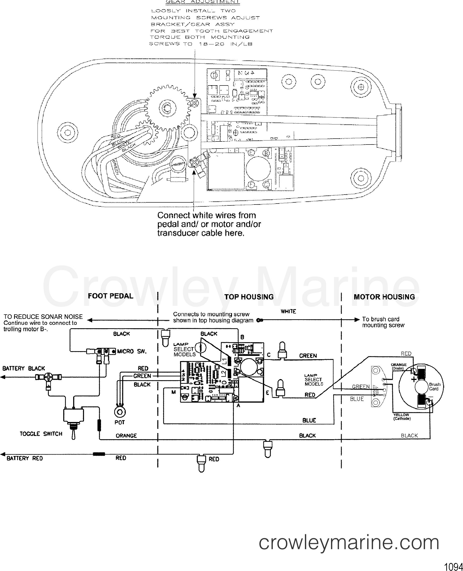 hnjaxlbM wire diagram(model te782v) (24 volt) 2001 motorguide [motorguide motorguide foot pedal wiring diagram at mifinder.co
