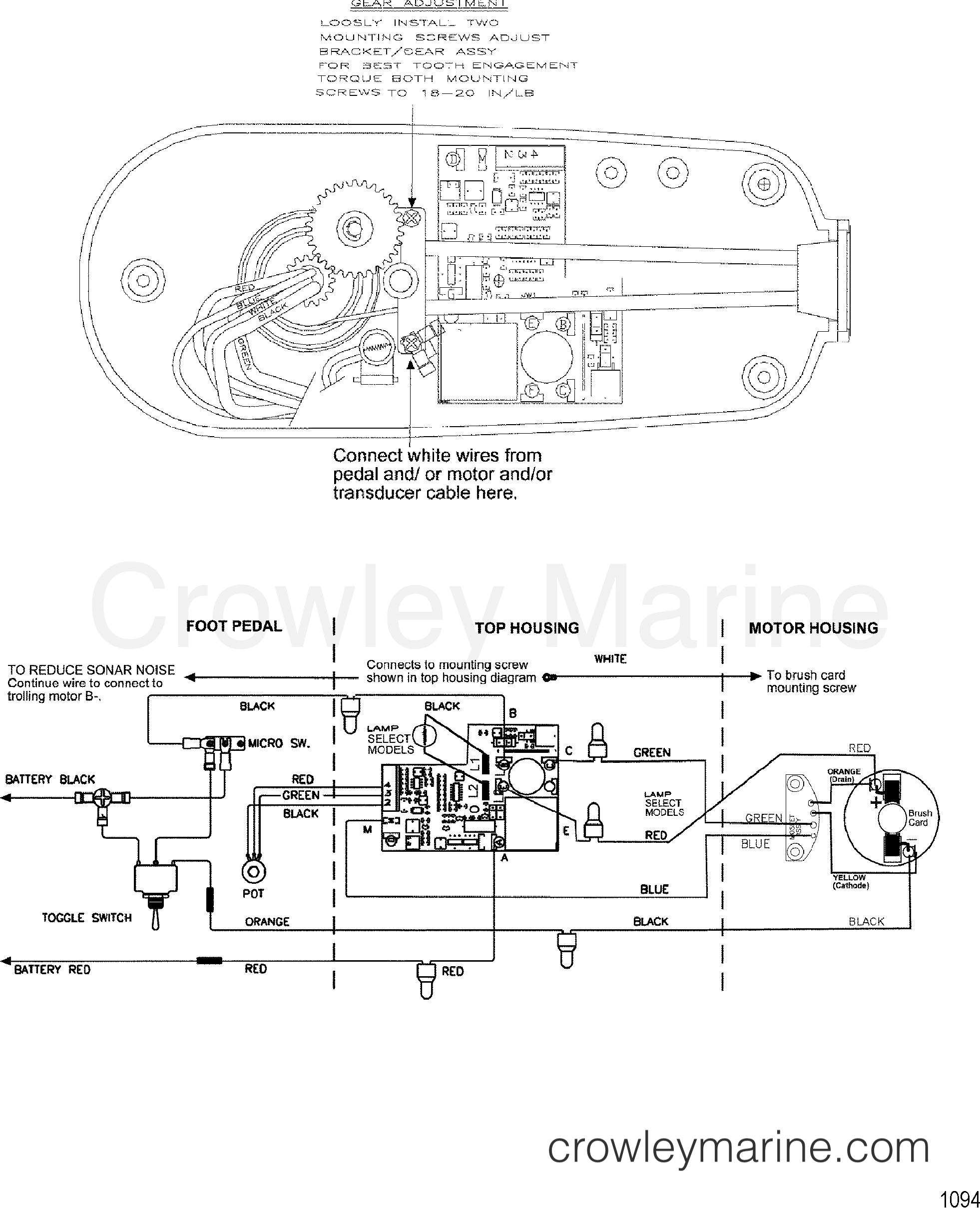 wire diagram model te782v   24 volt