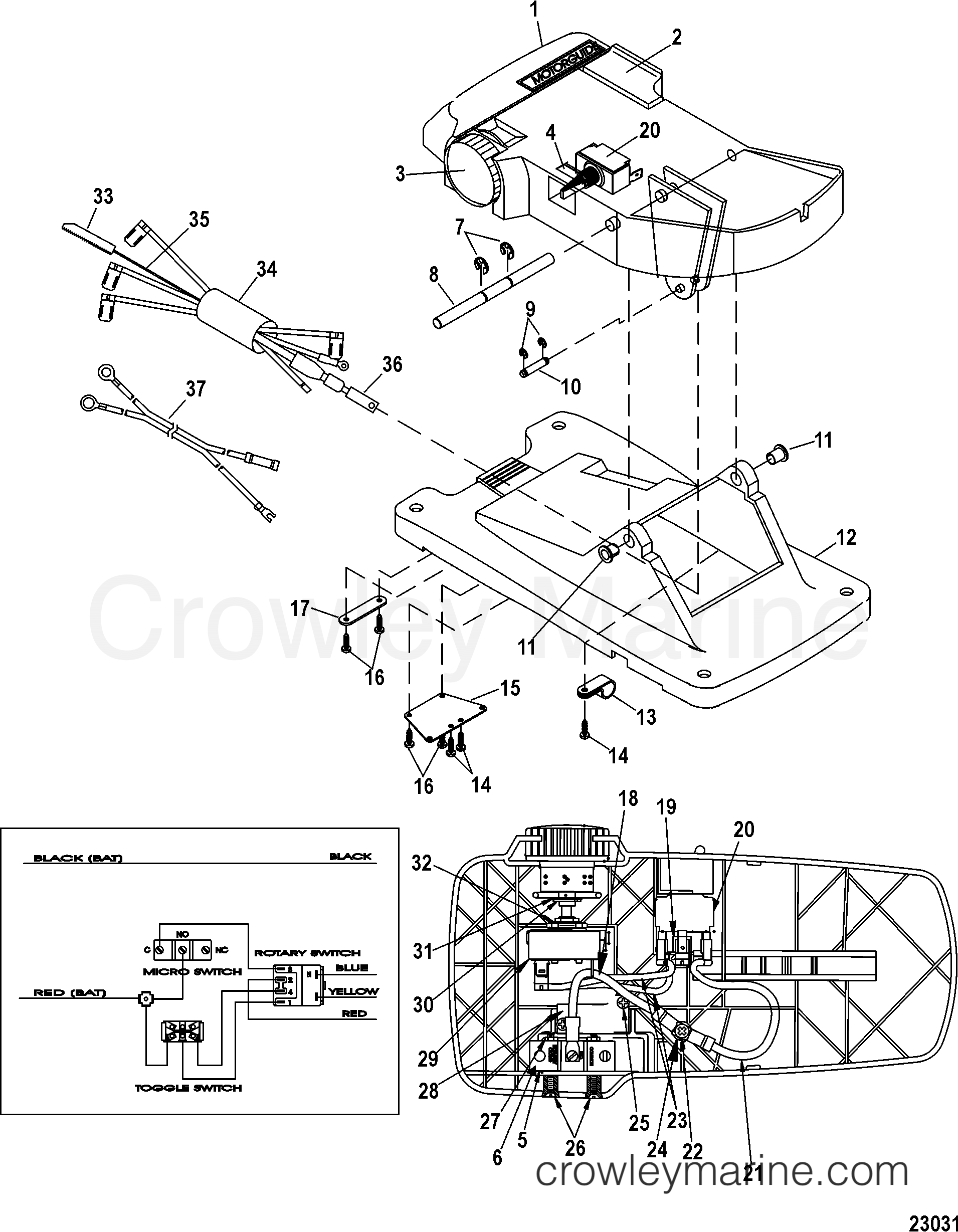 Foot Pedal Diagram Download Wiring Diagrams Singer Assembly M899721t 2007 Motorguide 12v Rh Crowleymarine Com Minn Kota Switch