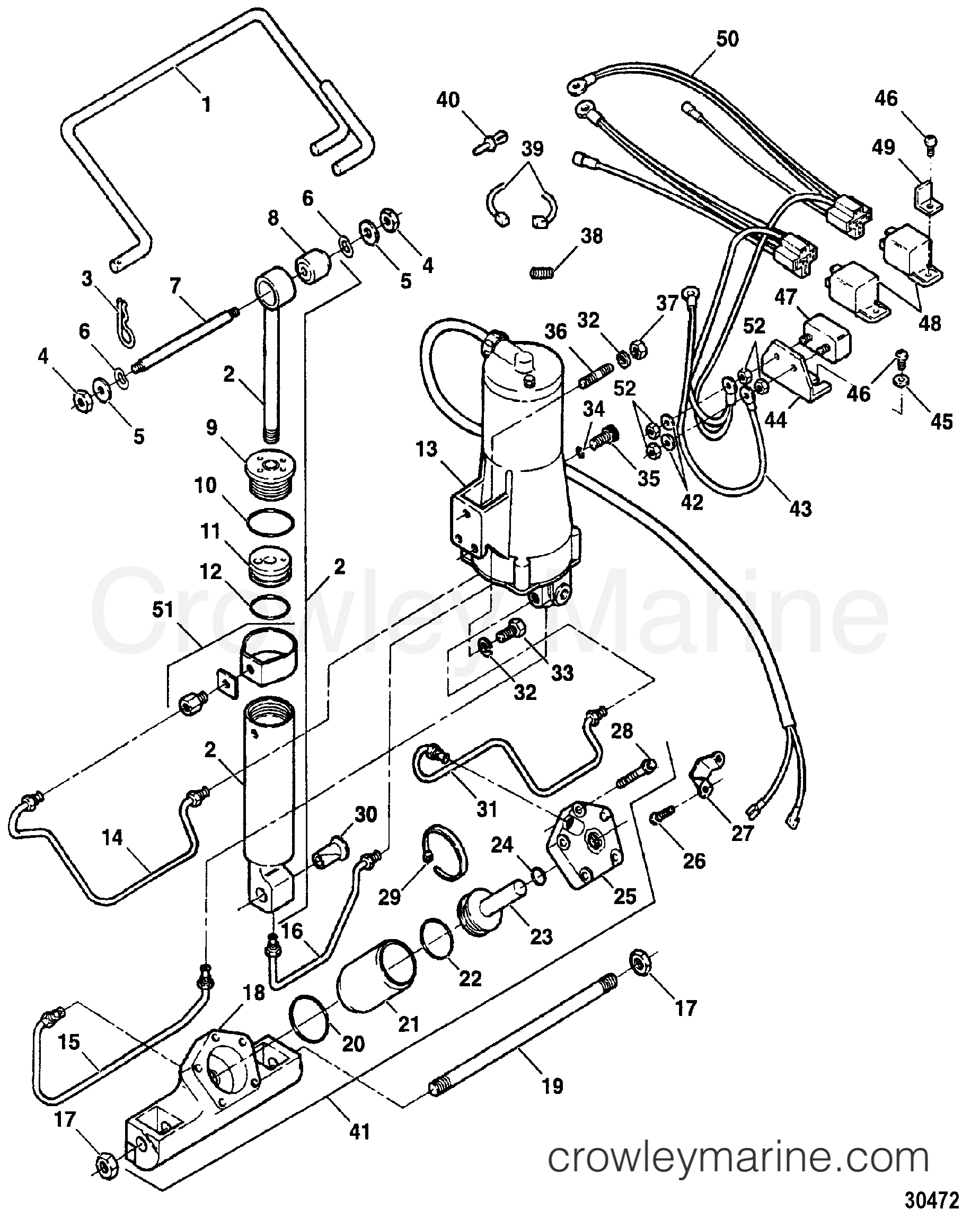 tilt cylinder assembly fs654381  u0026 fs719381  u0026 819108f