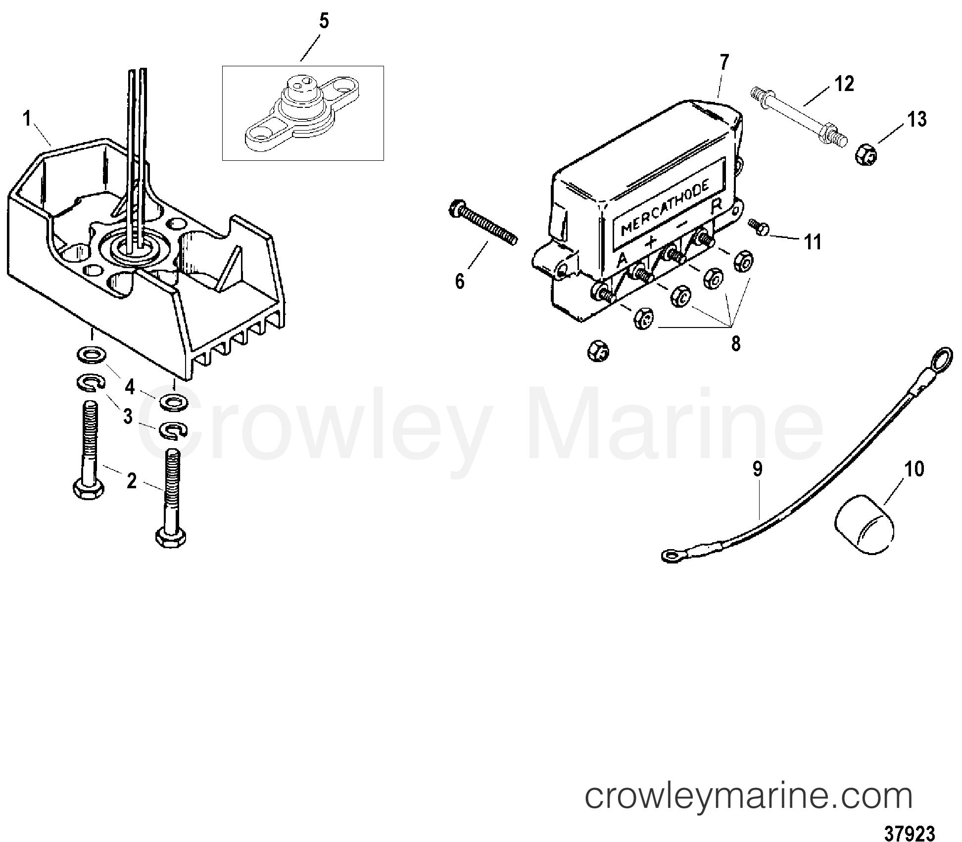 Mercathode Wiring Diagram from cdn.crowleymarine.com