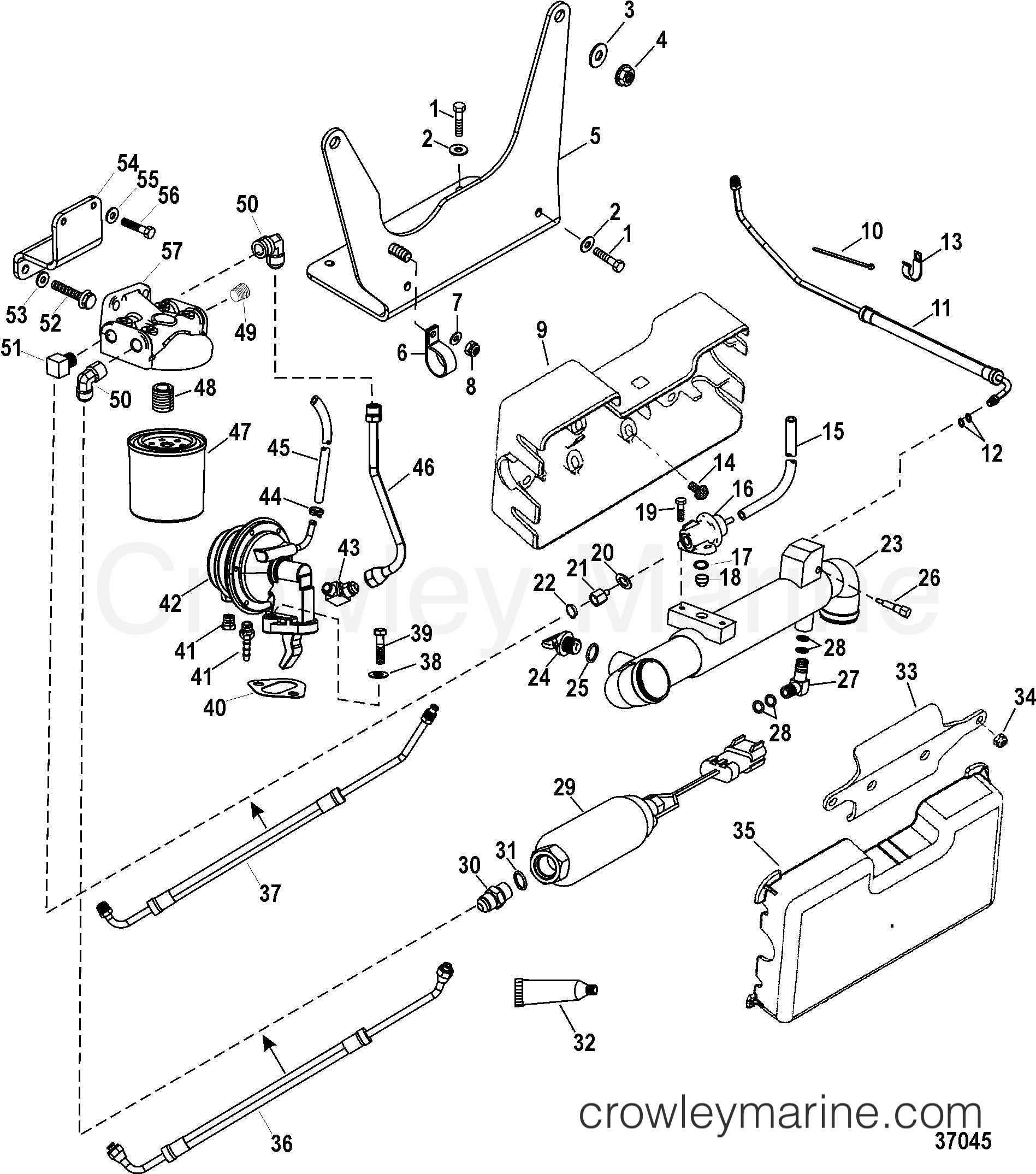 Diagram In Addition Johnson Outboard Fuel Pump Diagram On Water Pump