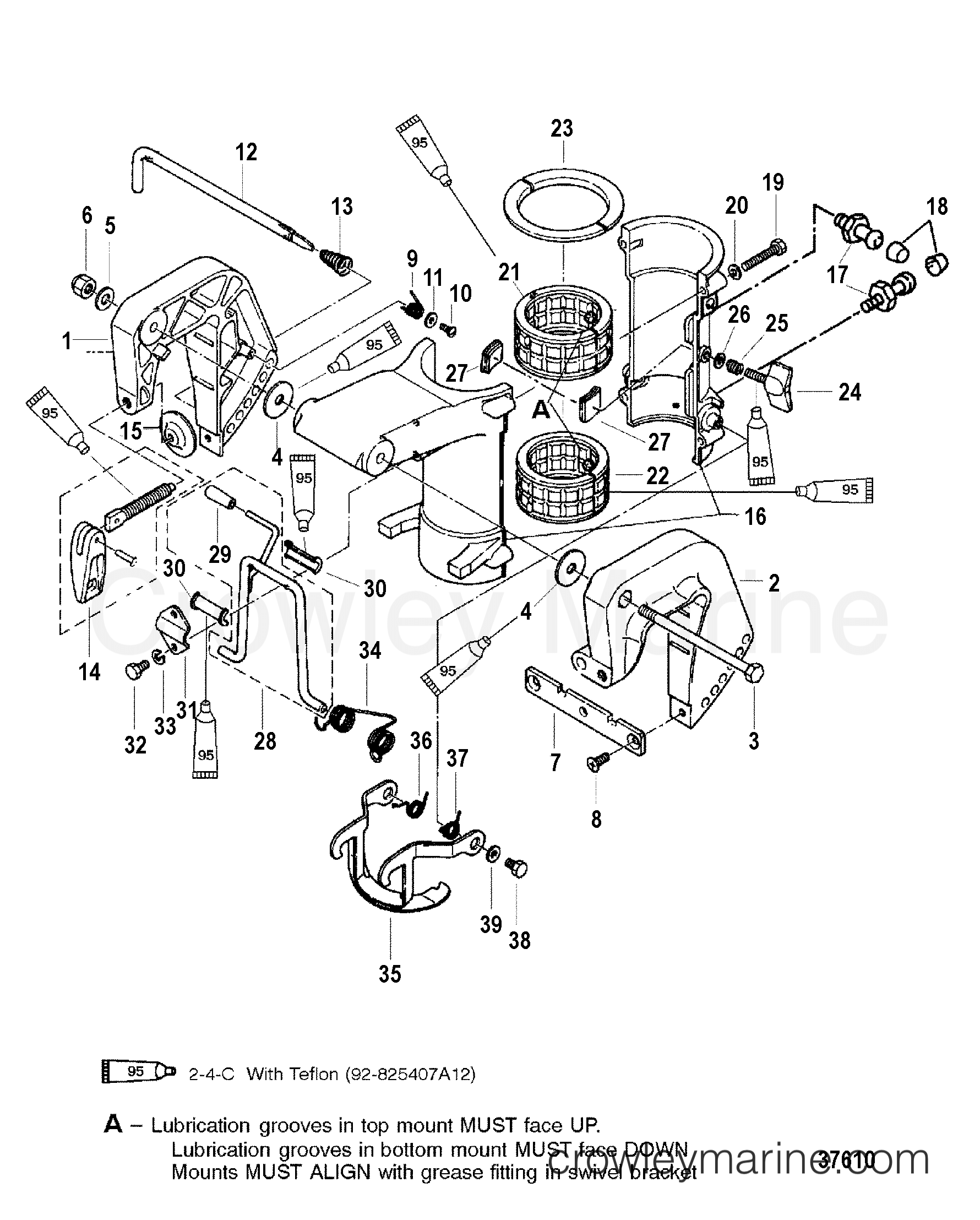 clamp and swivel brackets