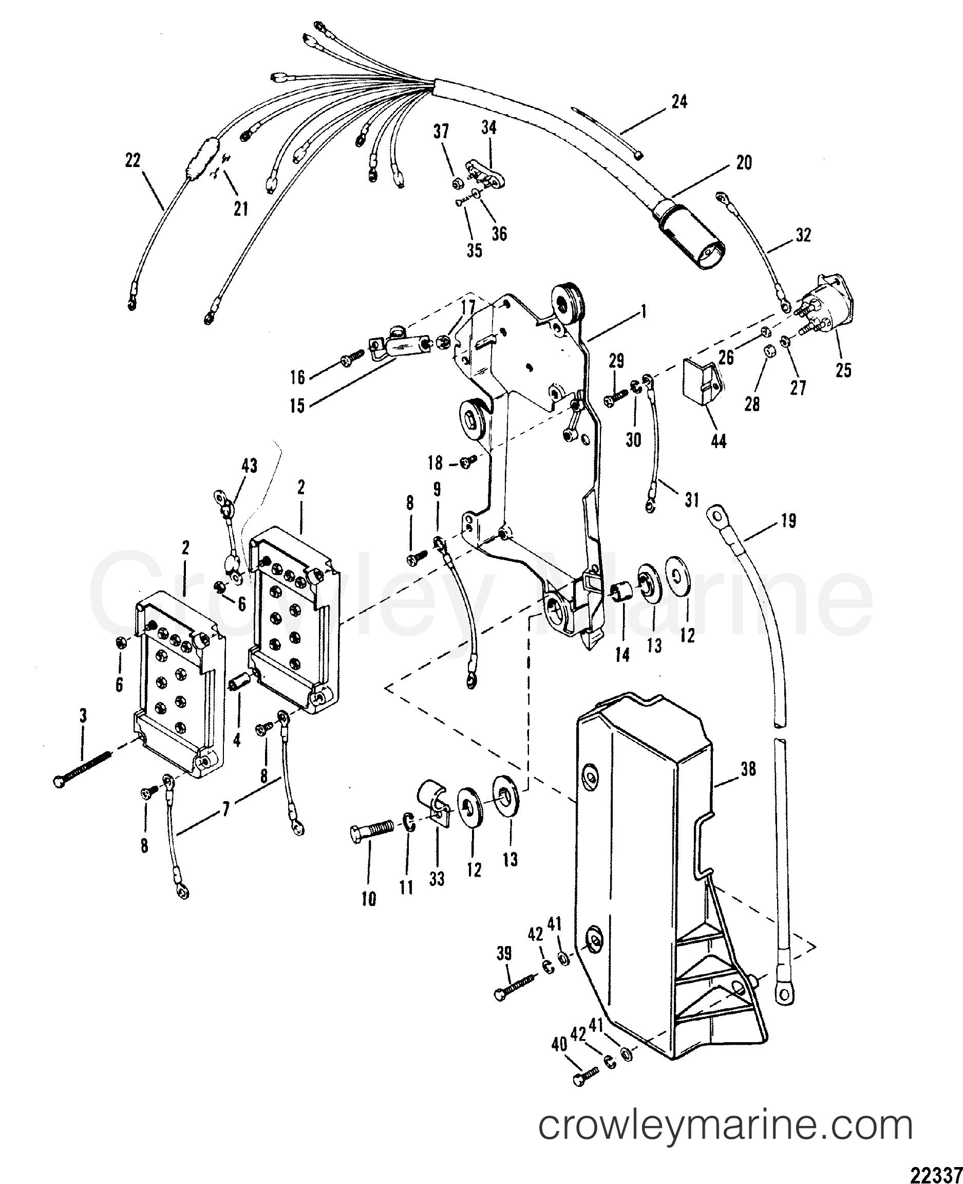 wiring harness  starter solenoid
