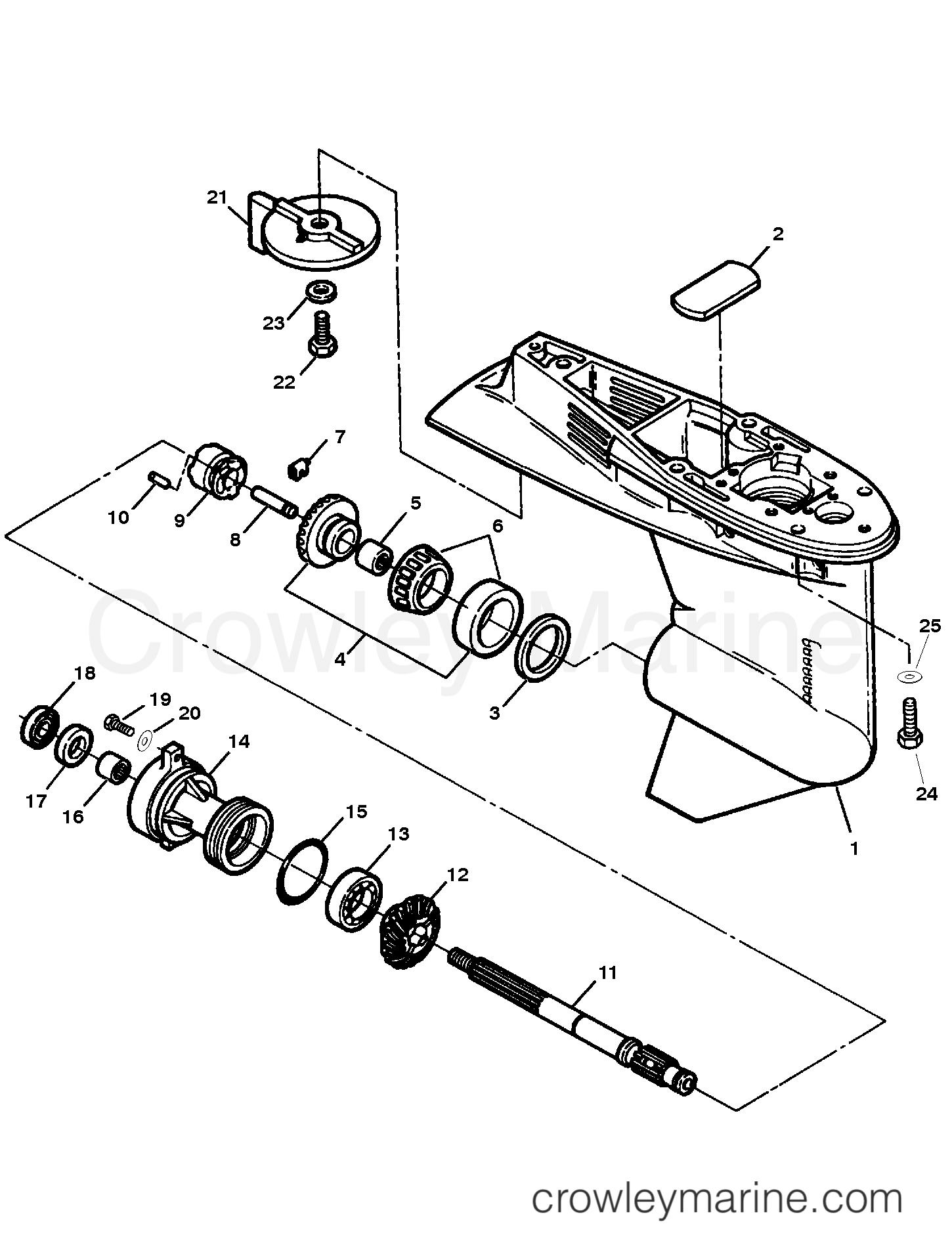 gear housing assembly