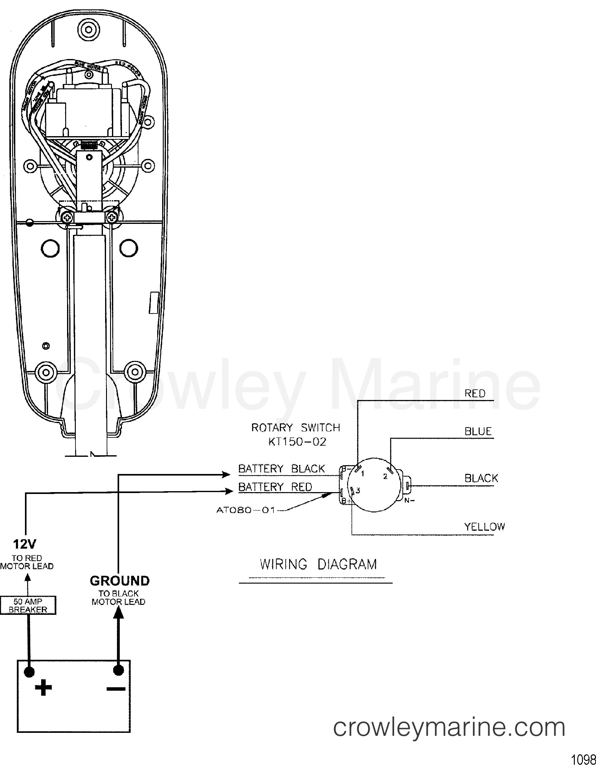 Wire Diagram Model 536   12 Volt   24v