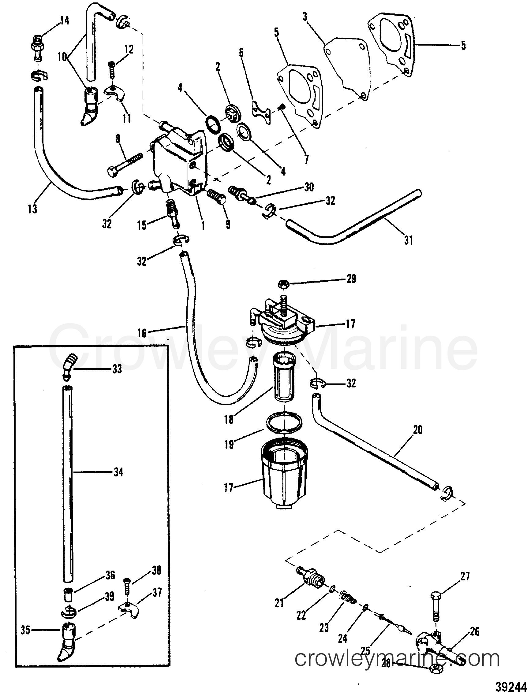 Fuel Pump And Fuel Line