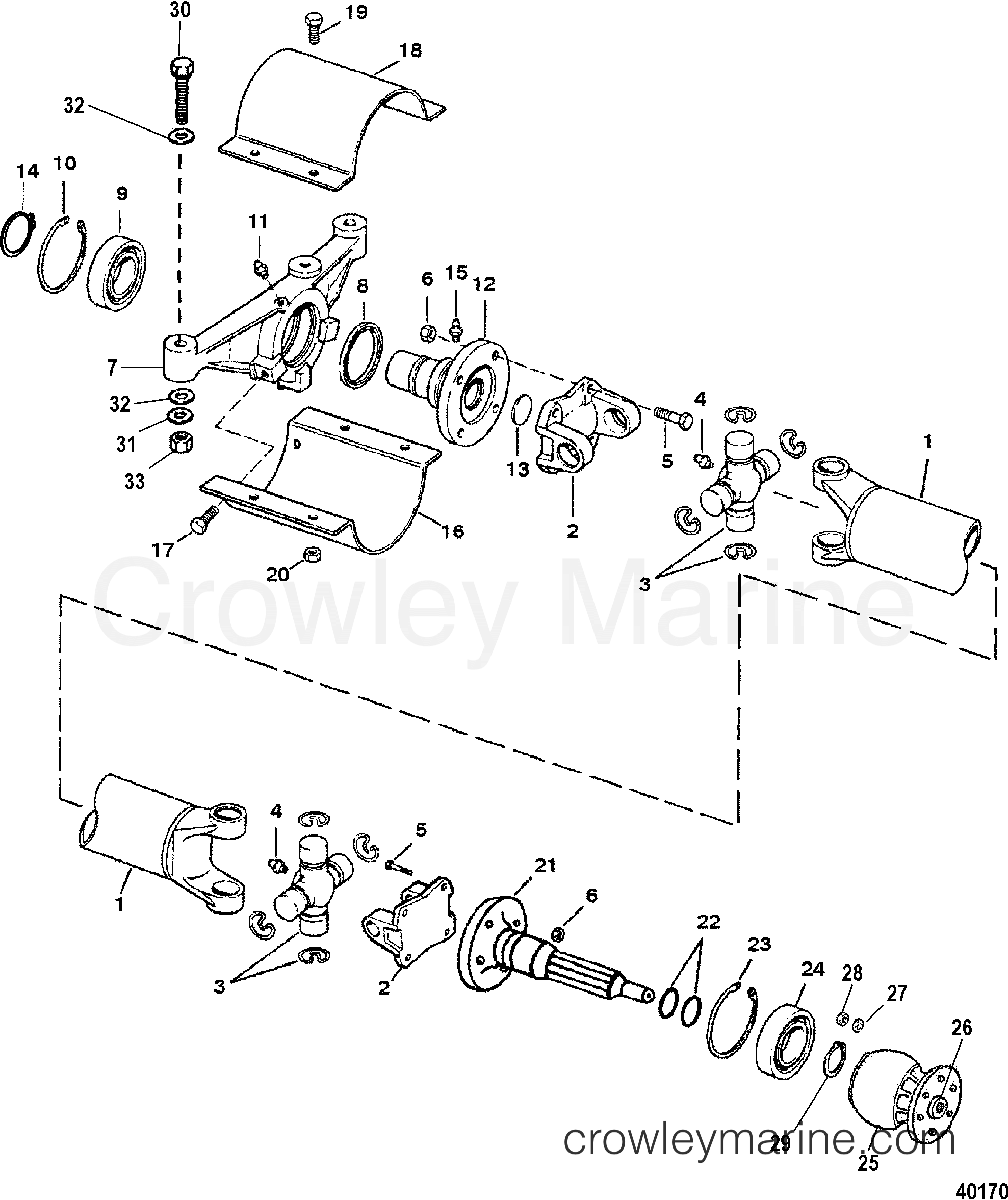 Driveshaft Extension Components M0061-g8