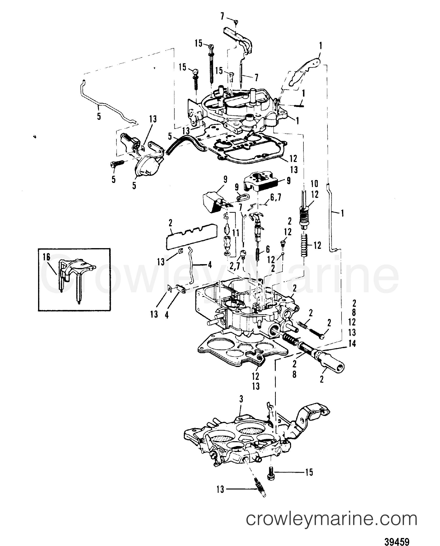 carburetor rochester   180-190-3 7l  lx