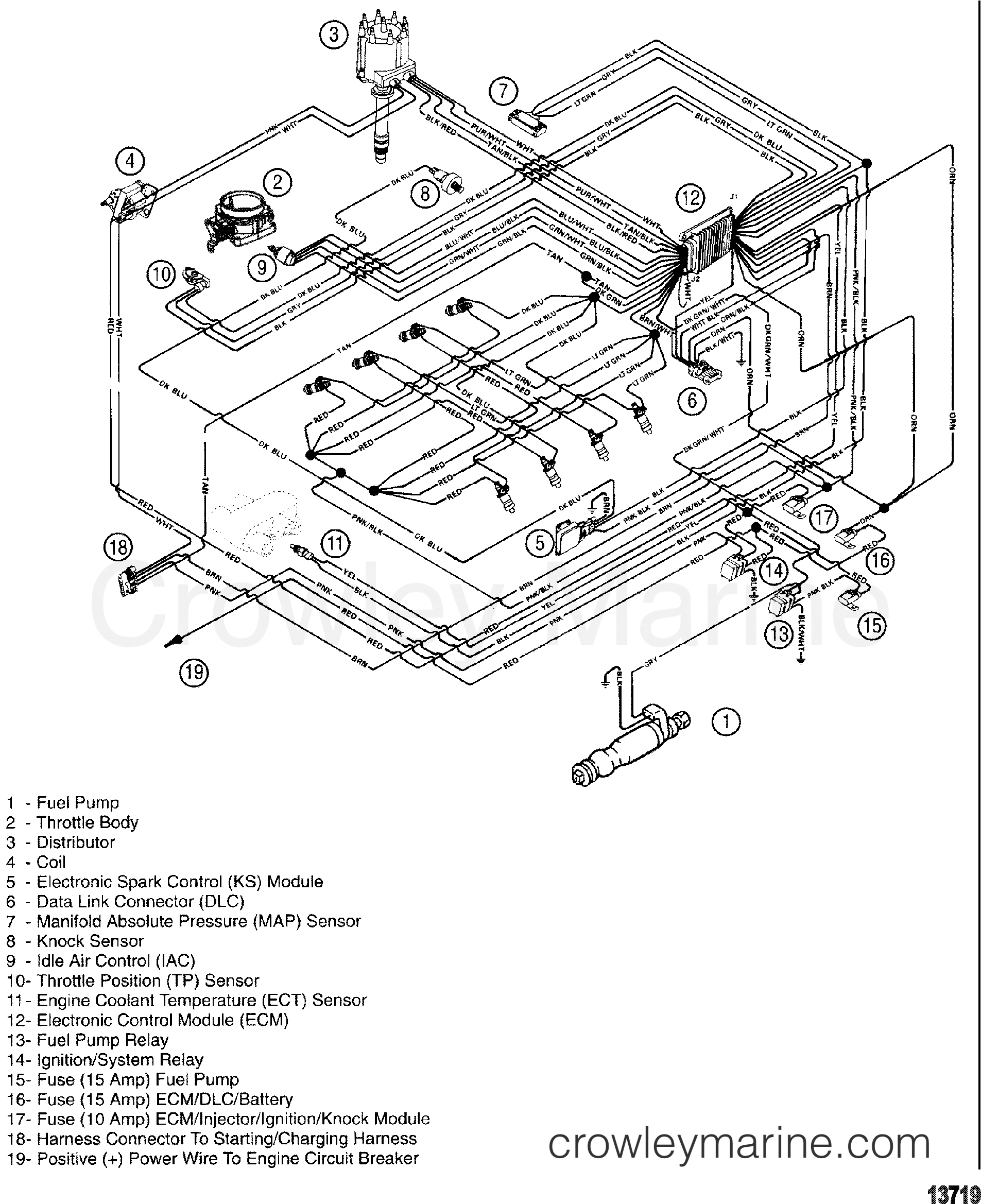 Mercruiser 350 Mpi Wiring Diagram Free For You Mag U2022 Rh Stardrop Store
