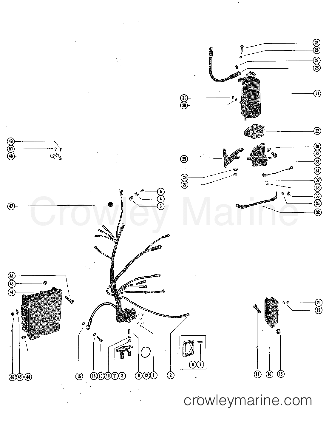 175 mercury ignition switch wiring diagram  mercury  auto wiring diagram