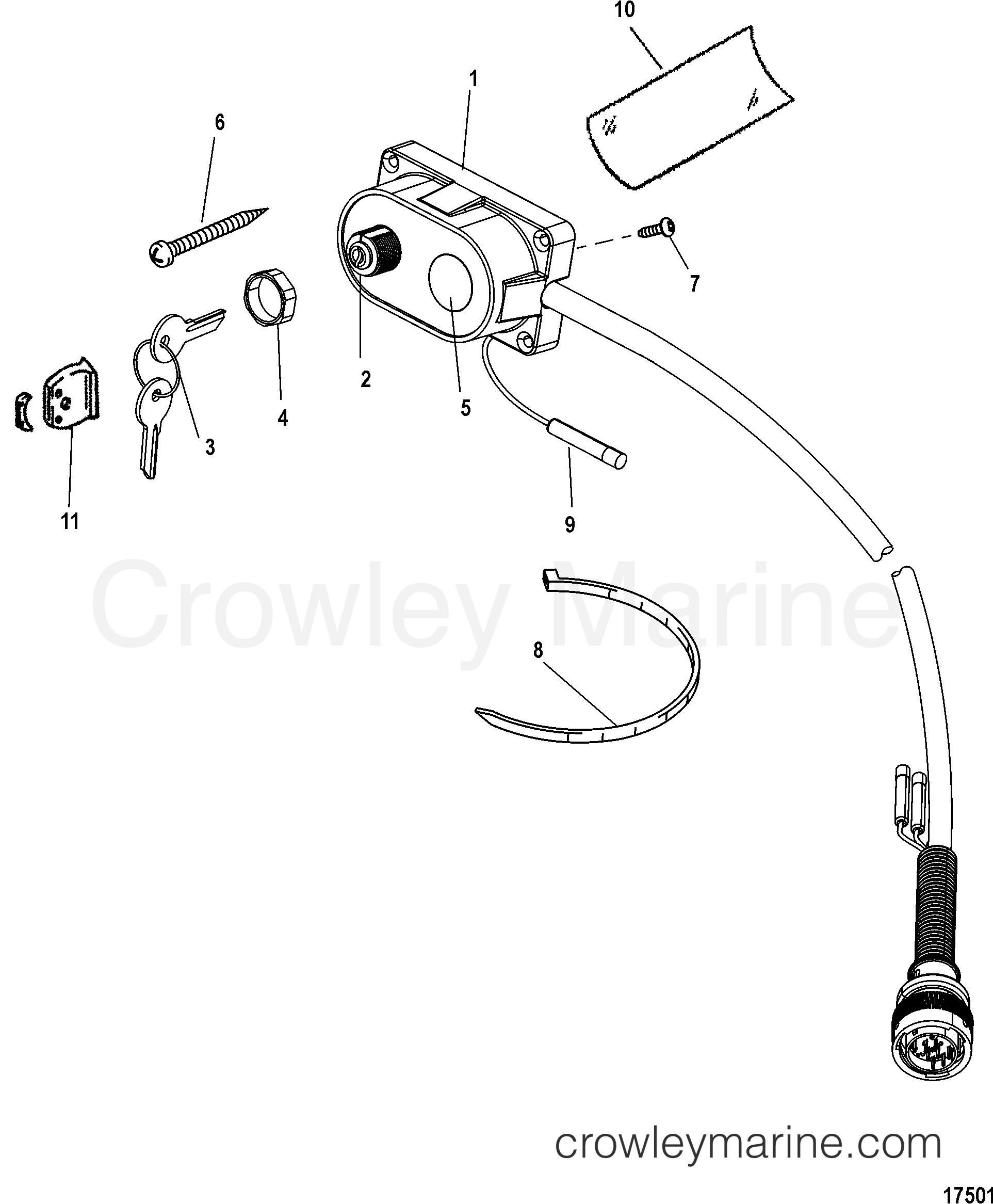 Key  Choke And Horn Kit  15000a14