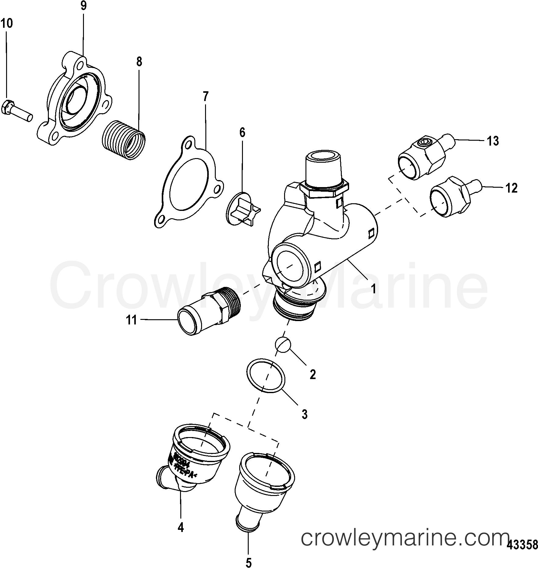 poppet valve assembly