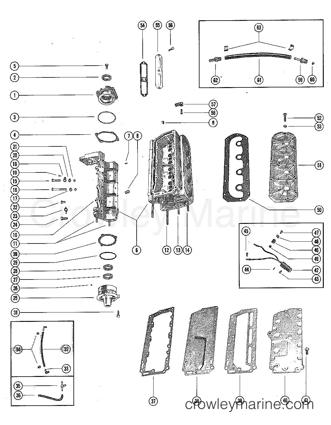 cylinder block and crankcase assembly serial range mercury rh crowleymarine com