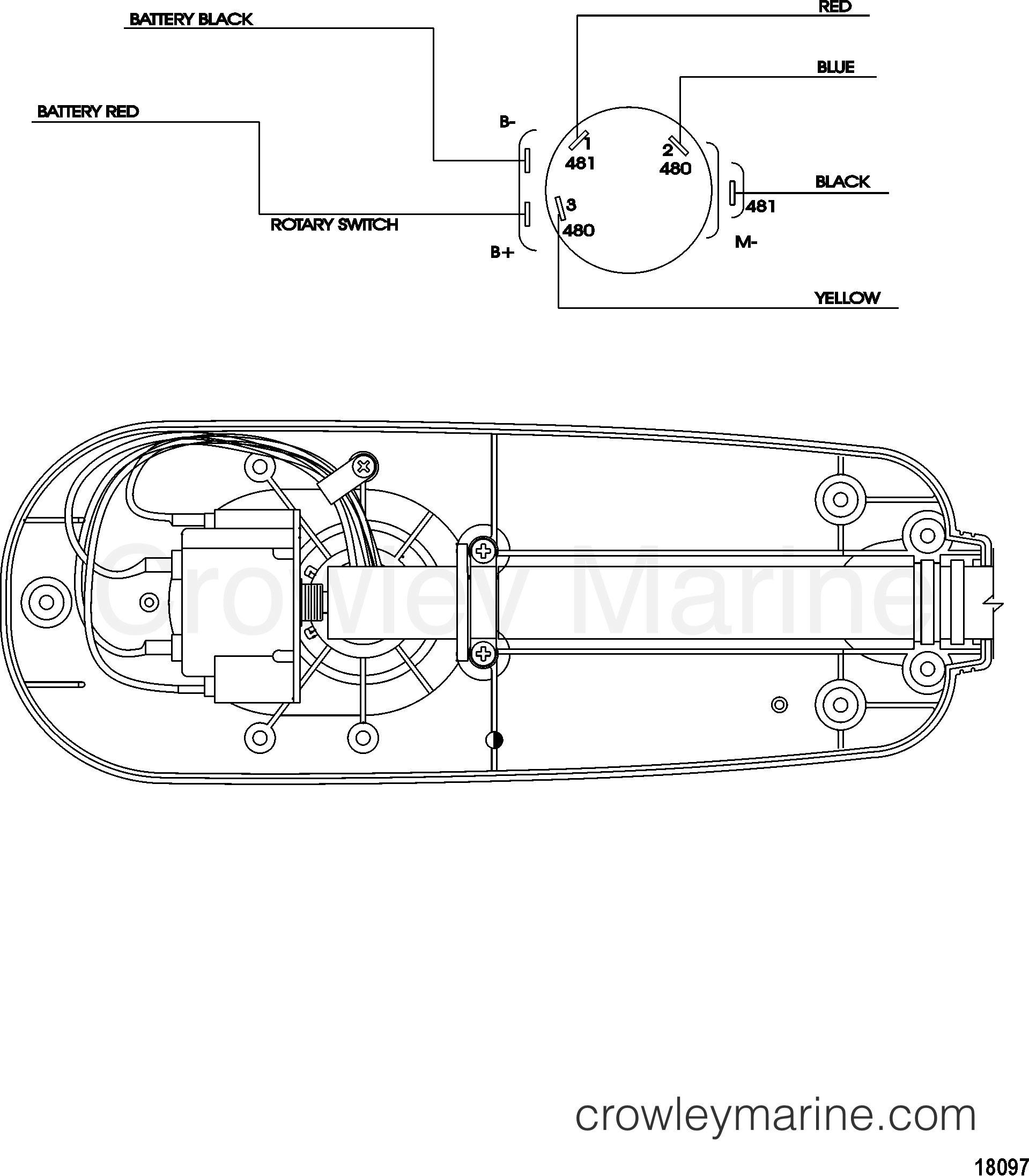 Motorguide Wiring Diagrams Online Manuual Of Diagram Amana Arb2214cw Wire Model T34 With Quick Connect 2004 12v Rh Crowleymarine Com X3