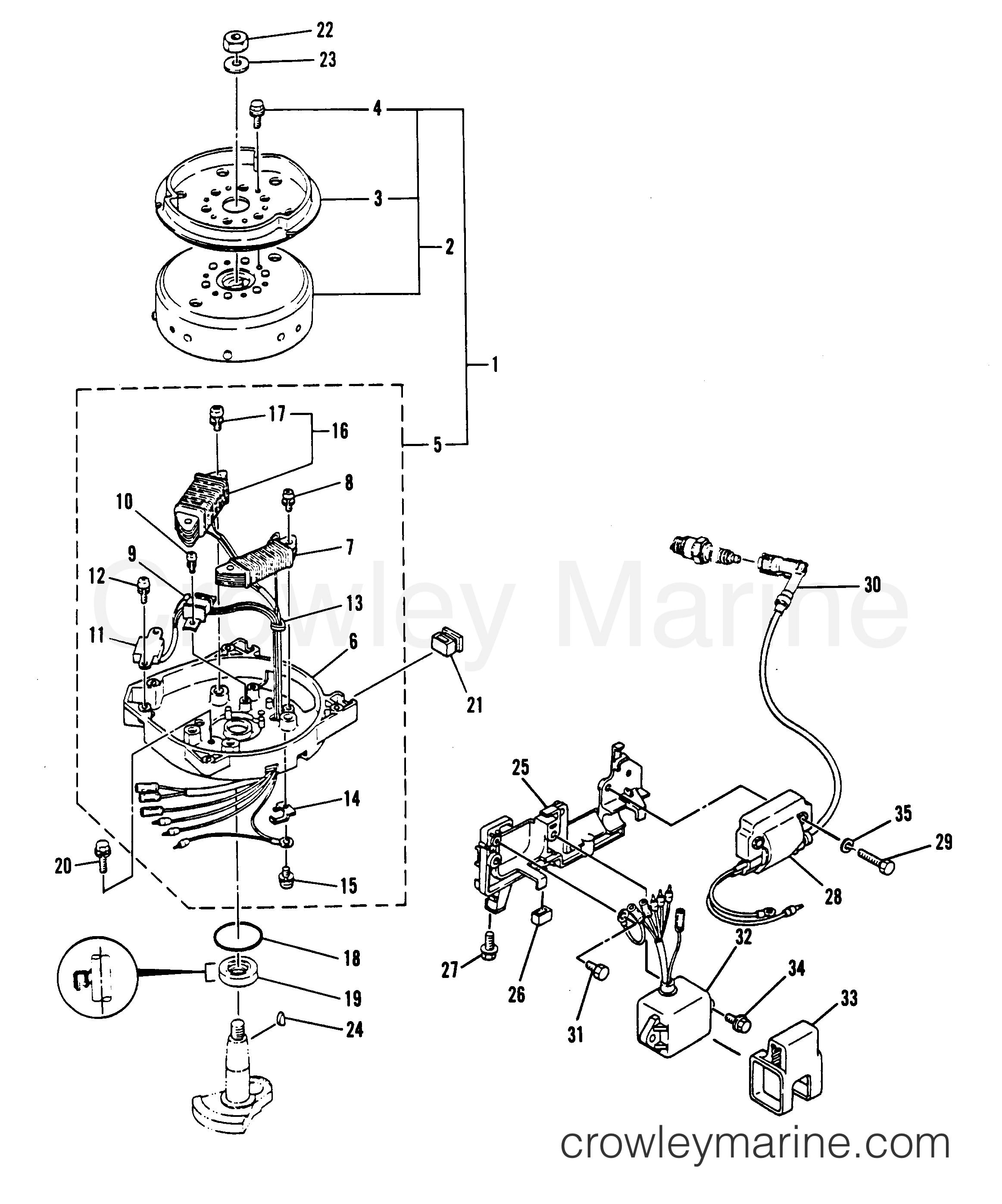 cdi ratchet diagram wiring diagram all data Chinese ATV Wiring Harness Diagram cdn crowleymarine mercury t6zejm8v 6 wire cdi box diagram honda cdi ratchet diagram