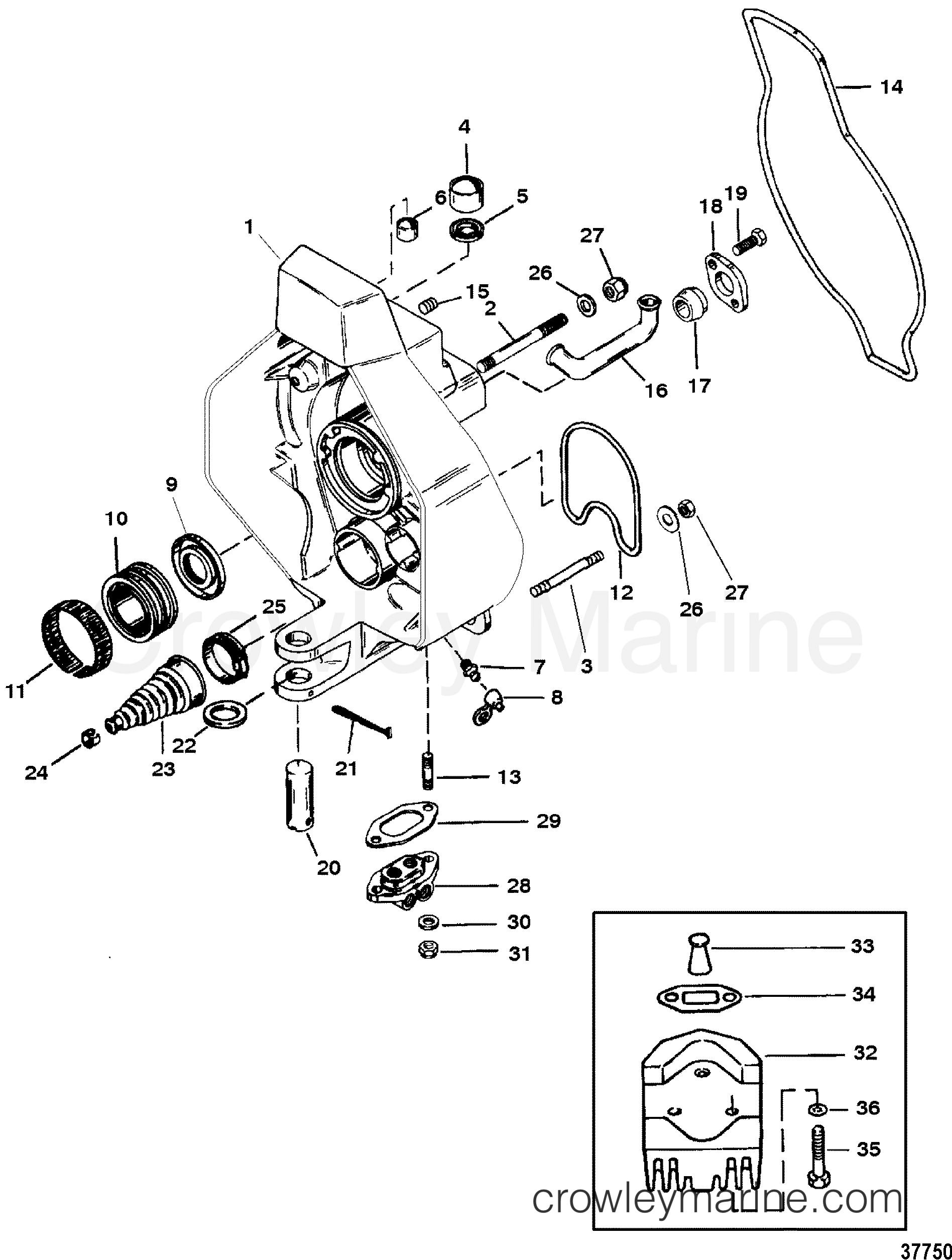 Bravo 3 Manual bearing carrier tool