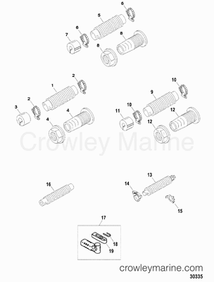 Shift / Throttle / Steering Cable Components