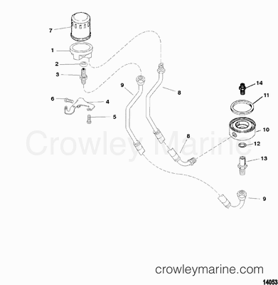 2004 Mercury Outboard Wiring Harness