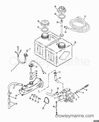 1991 mercury outboard 175xri l 1175413ld parts. Black Bedroom Furniture Sets. Home Design Ideas