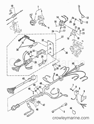 Mercury 500 Wiring Harness together with U V W Motor Wiring further 100 Hp Johnson Outboard Motor Wiring Diagram furthermore Mercruiser Shifter Wiring Diagram furthermore Patio Wiring Diagrams. on ignition wiring diagram mercury outboard